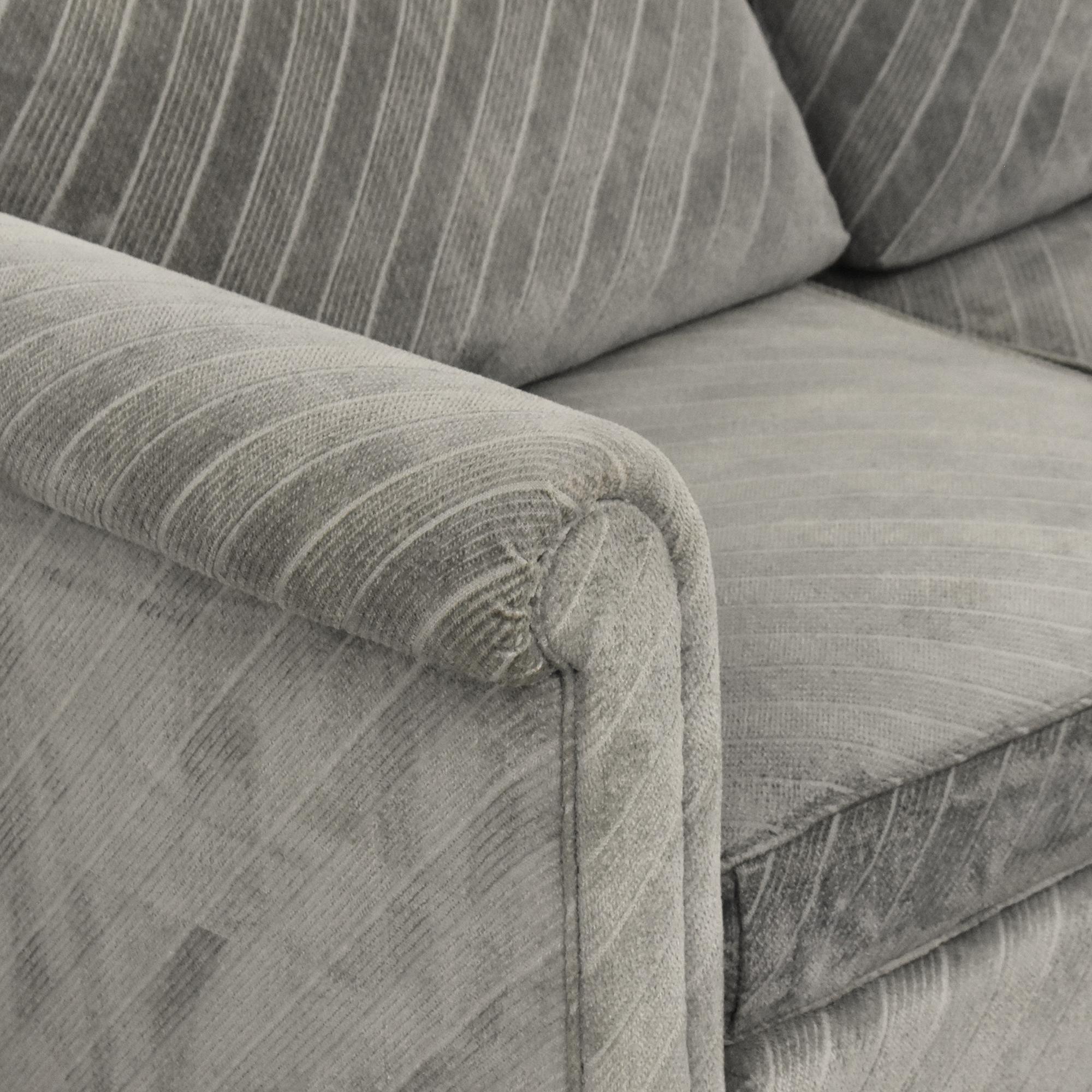 Baker Furniture Baker Furniture Historic Charleston Roll Arm Sofa dimensions