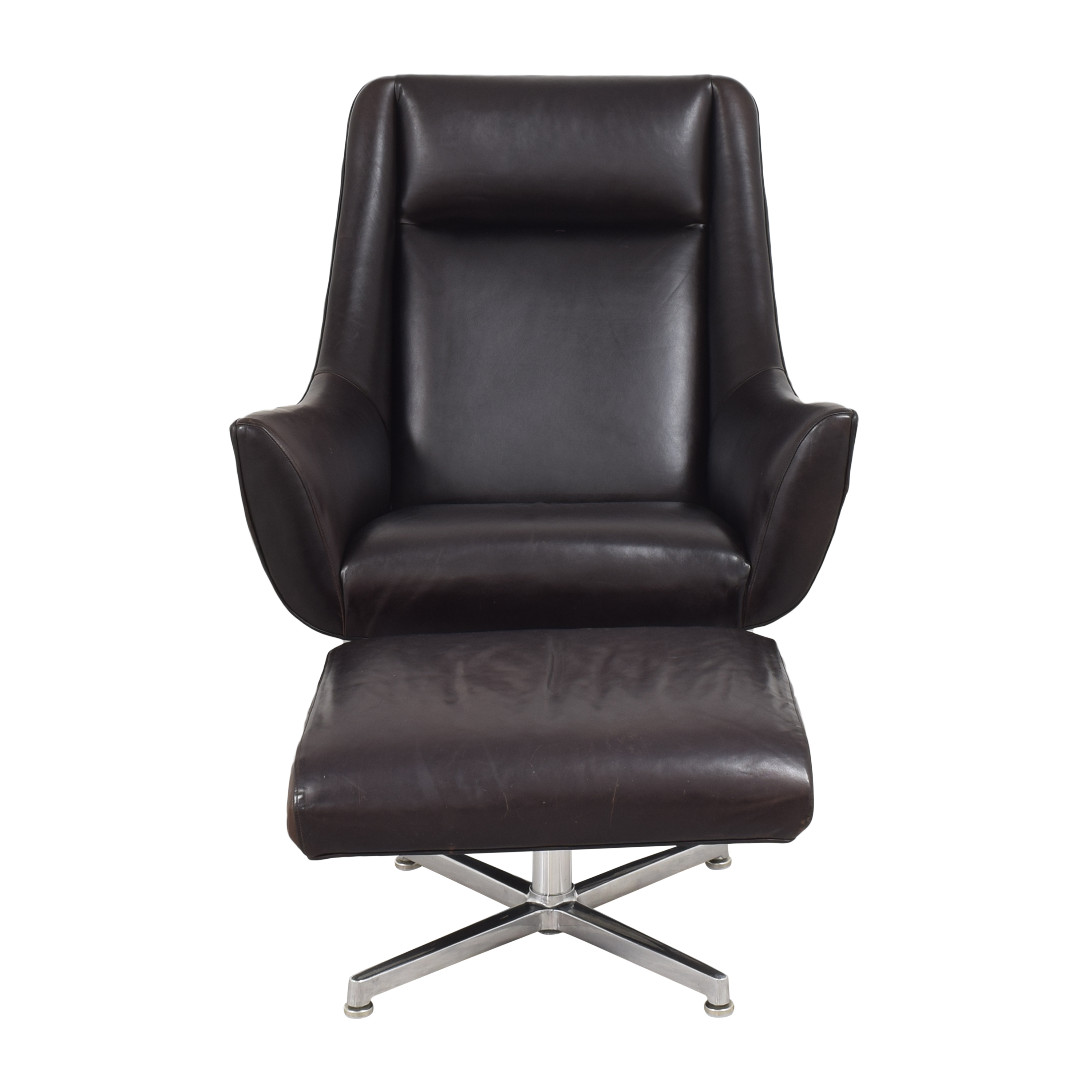 Room & Board Room & Board Charles Chair with Ottoman pa