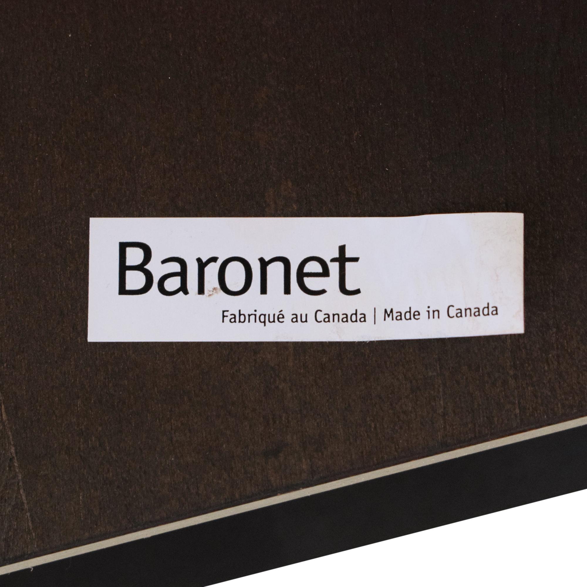 buy Baronet Two Tier Coffee Table Baronet Tables