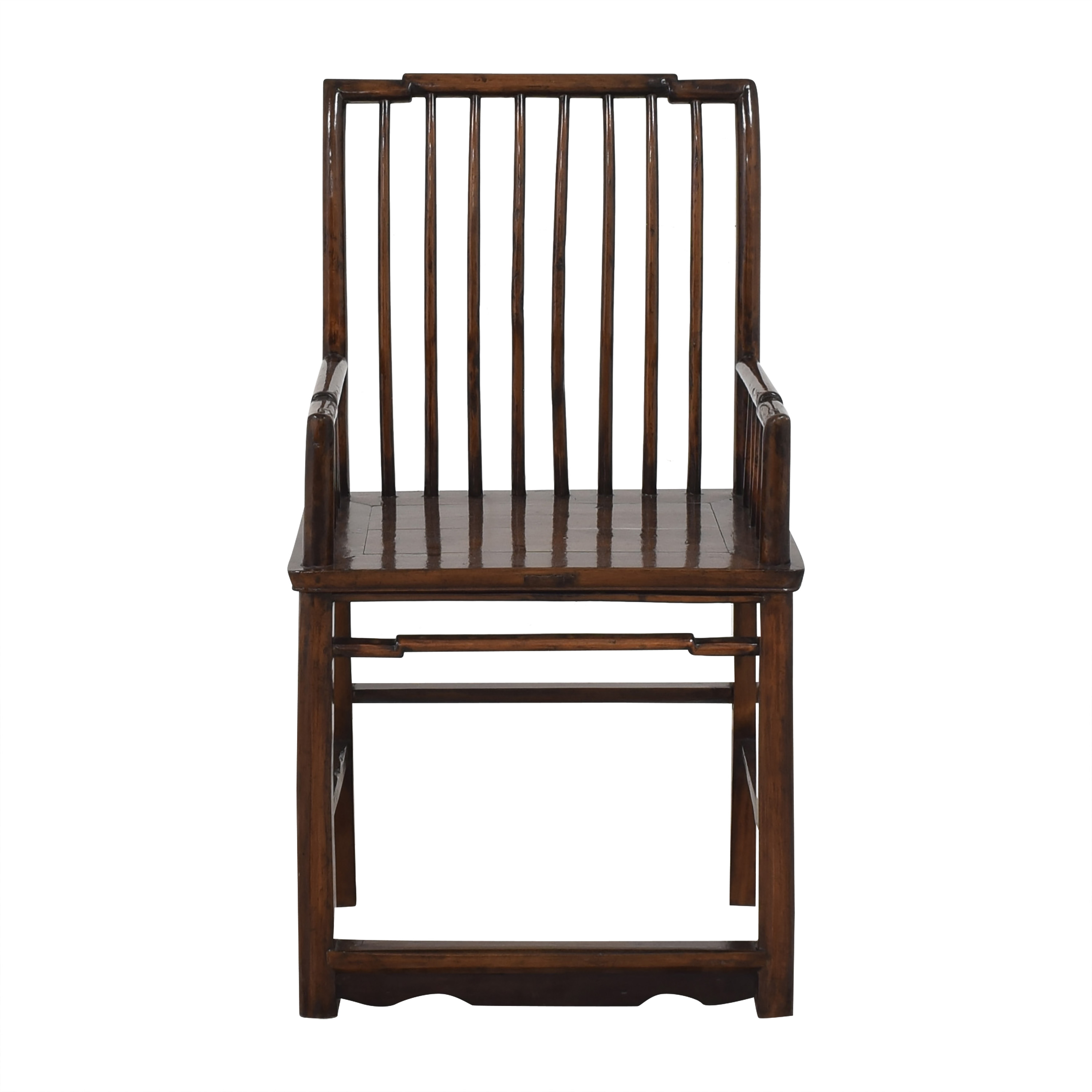 Spindle High Back Armchair dimensions