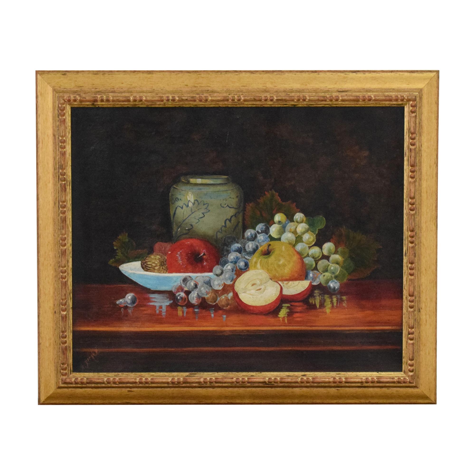 Fruit Still Life Wall Art Decor