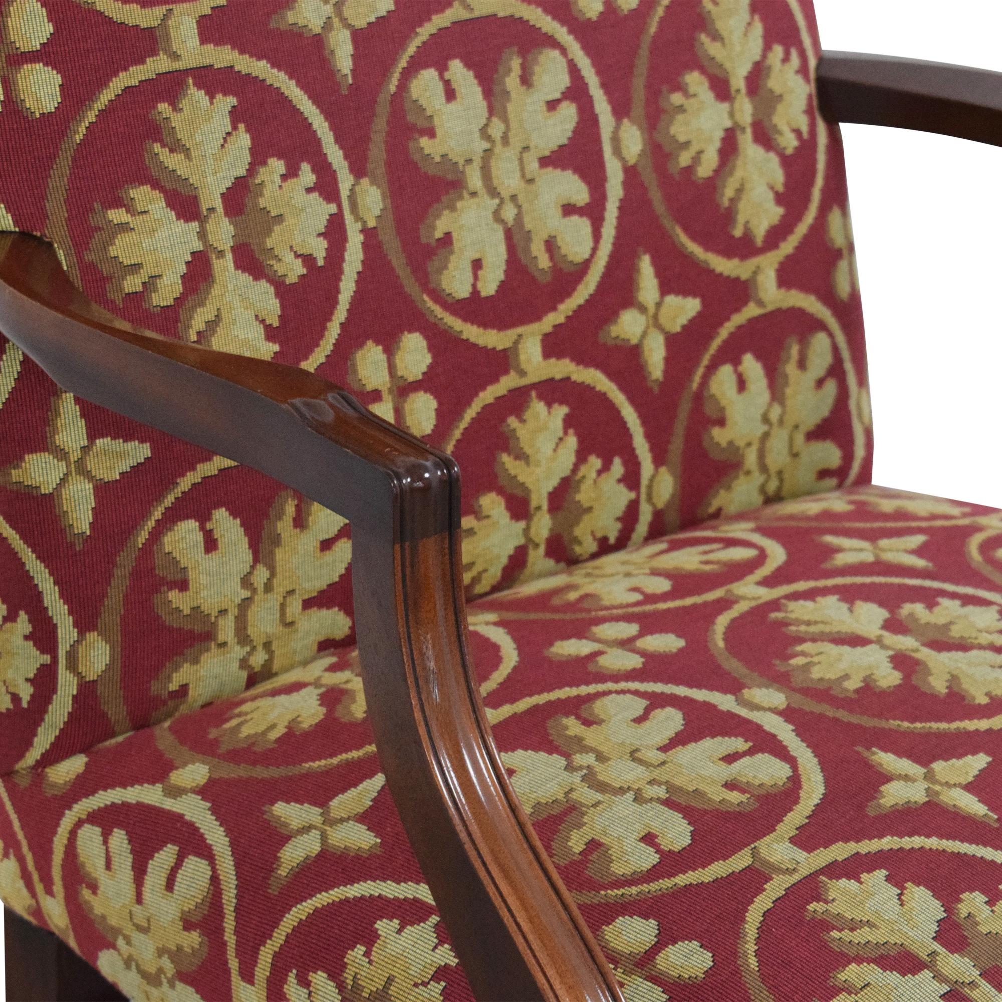 Custom Camelback Armchair nyc