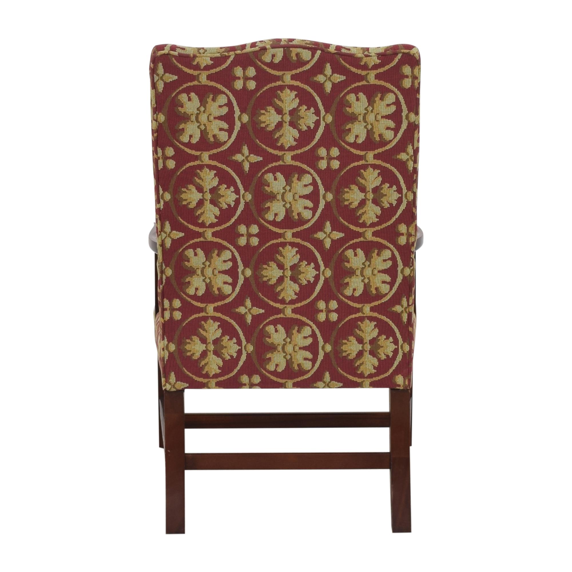 Custom Camelback Armchair used