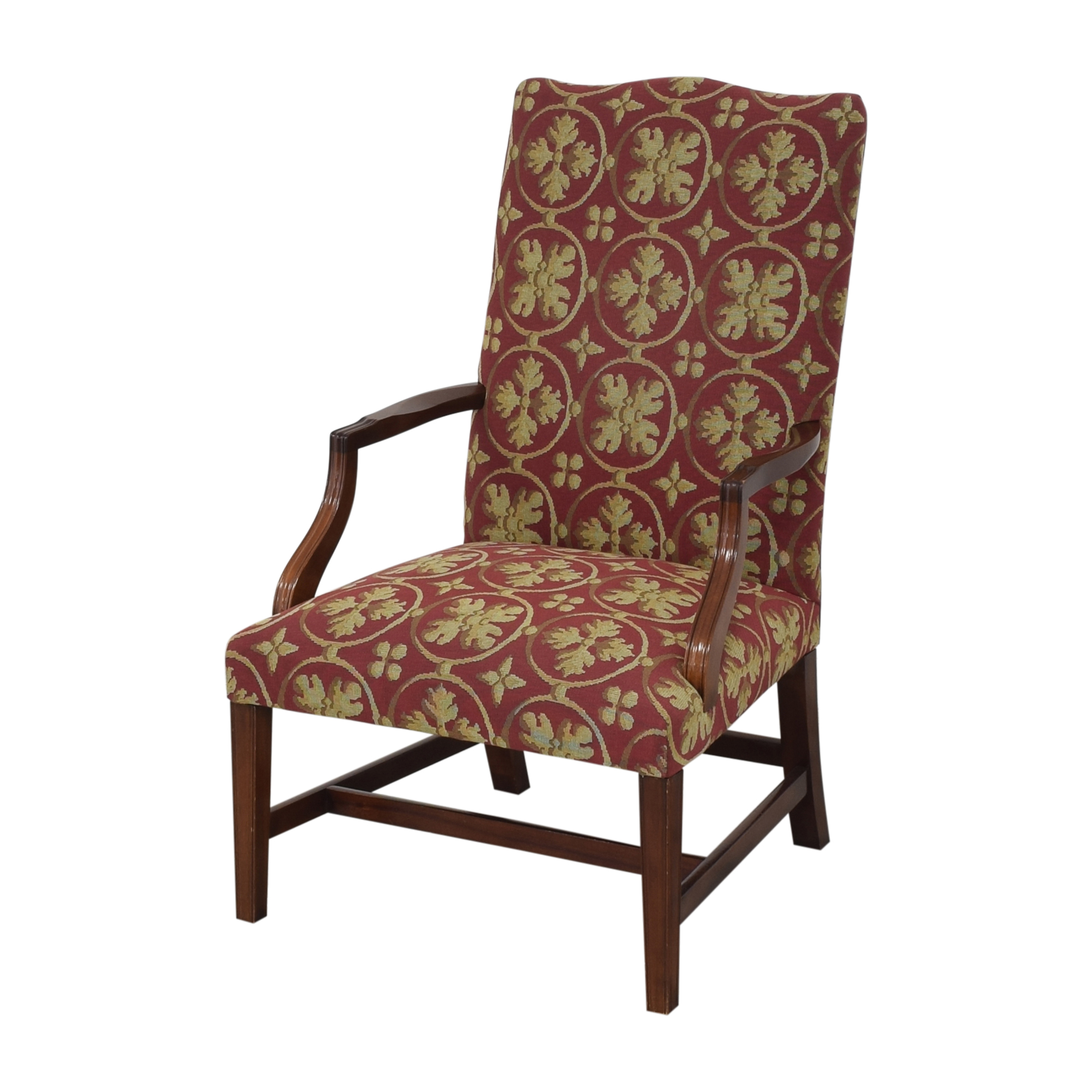 Custom Camelback Armchair / Accent Chairs