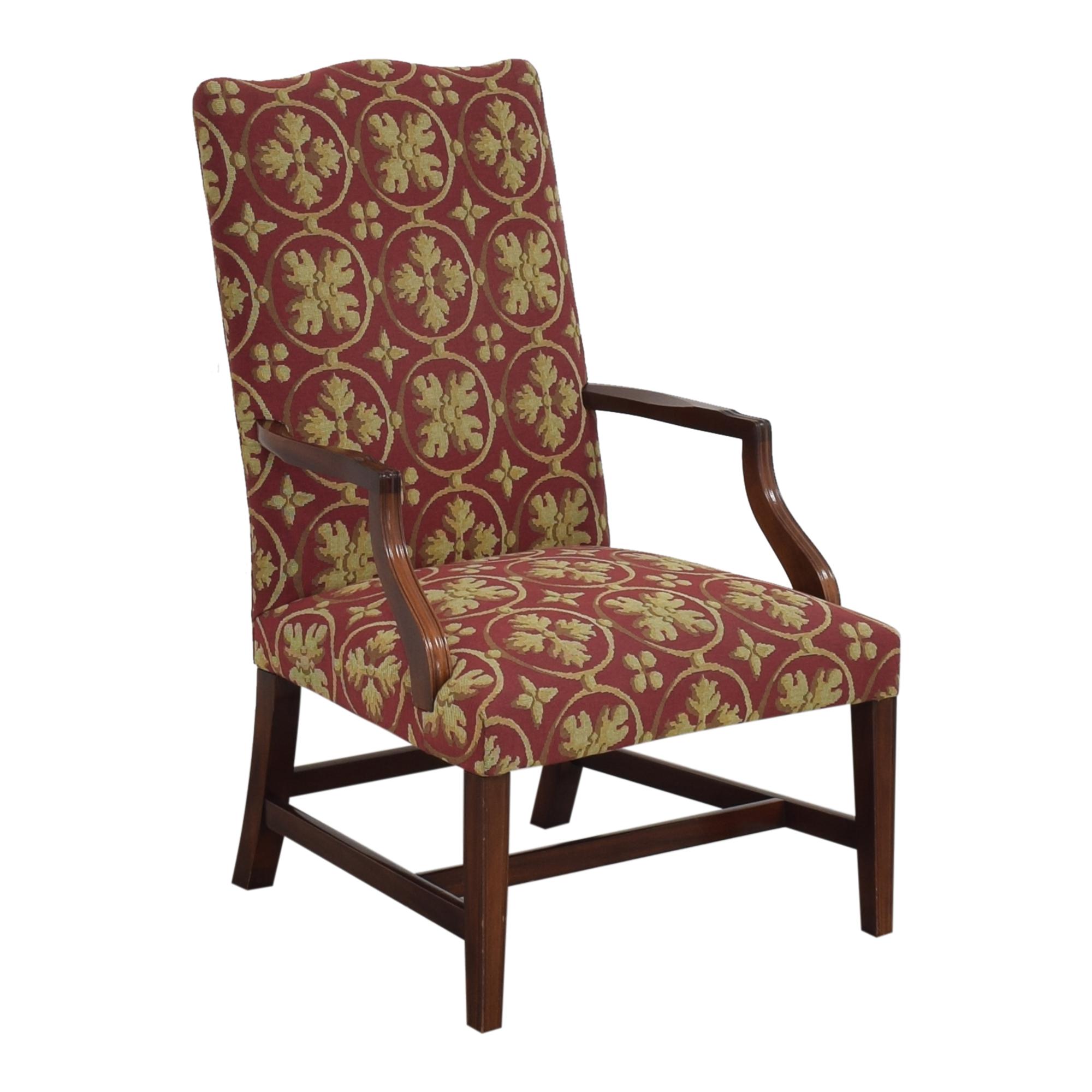 Custom Camelback Armchair pa