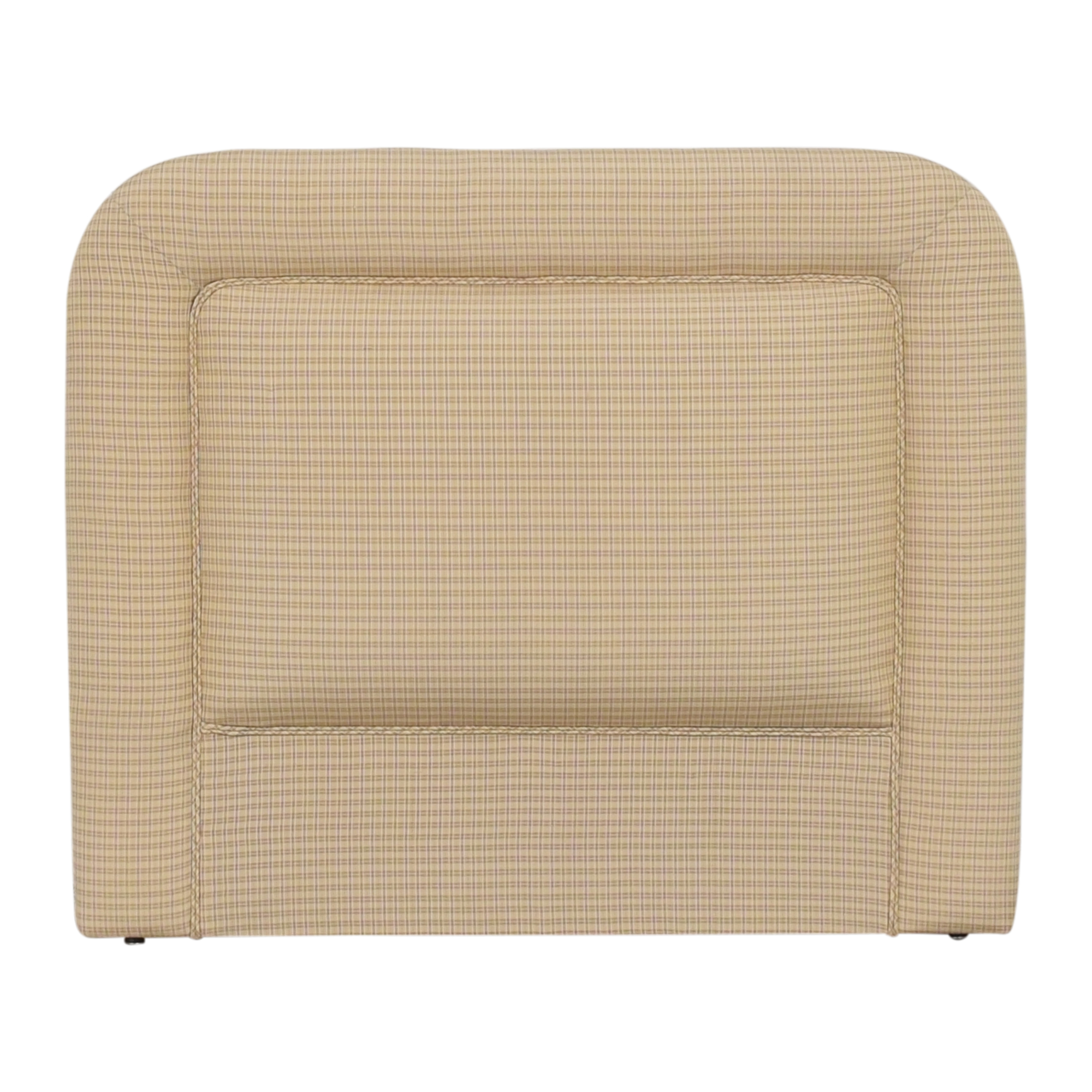 Contemporary Upholstered Twin Headboard