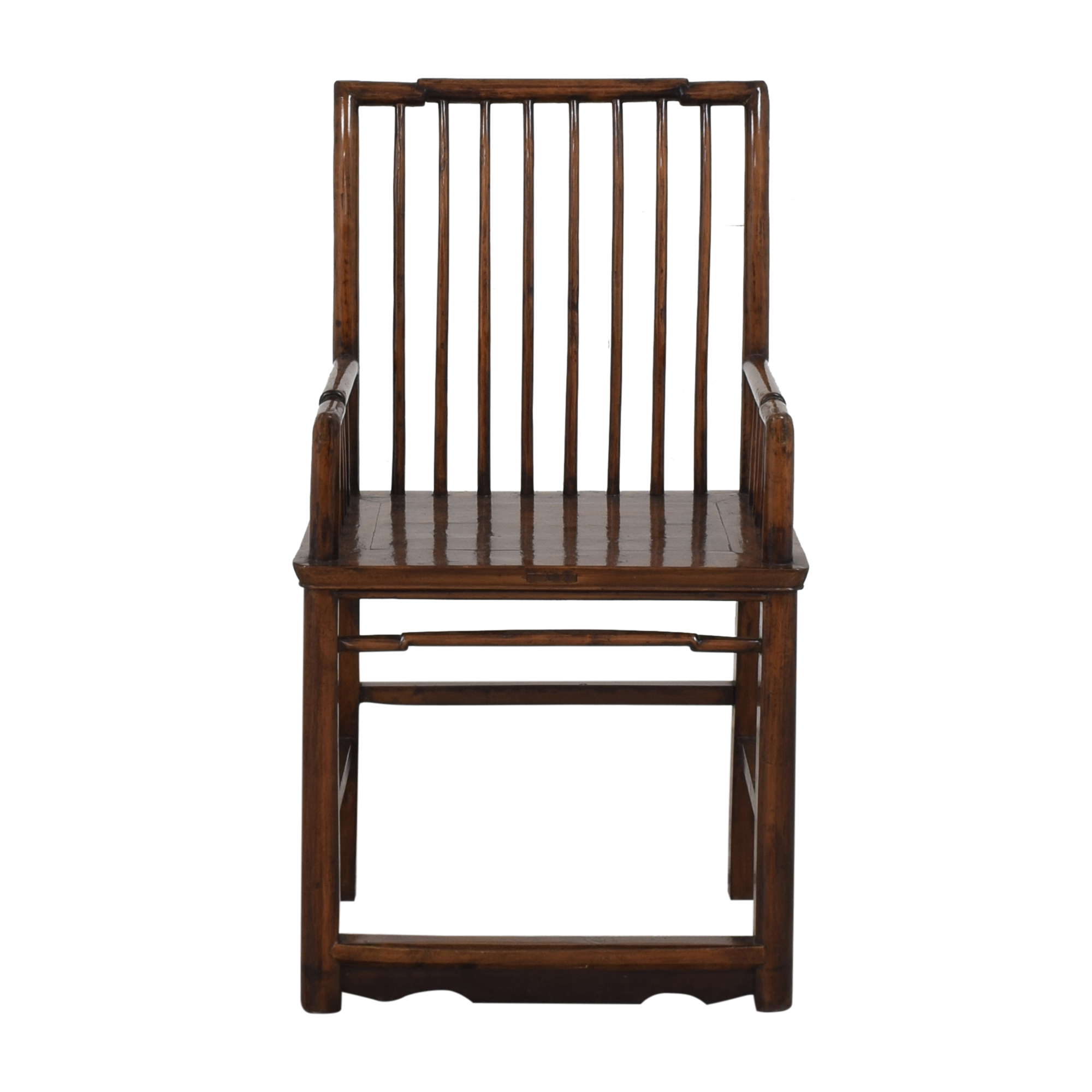 Spindle High Back Armchair Chairs