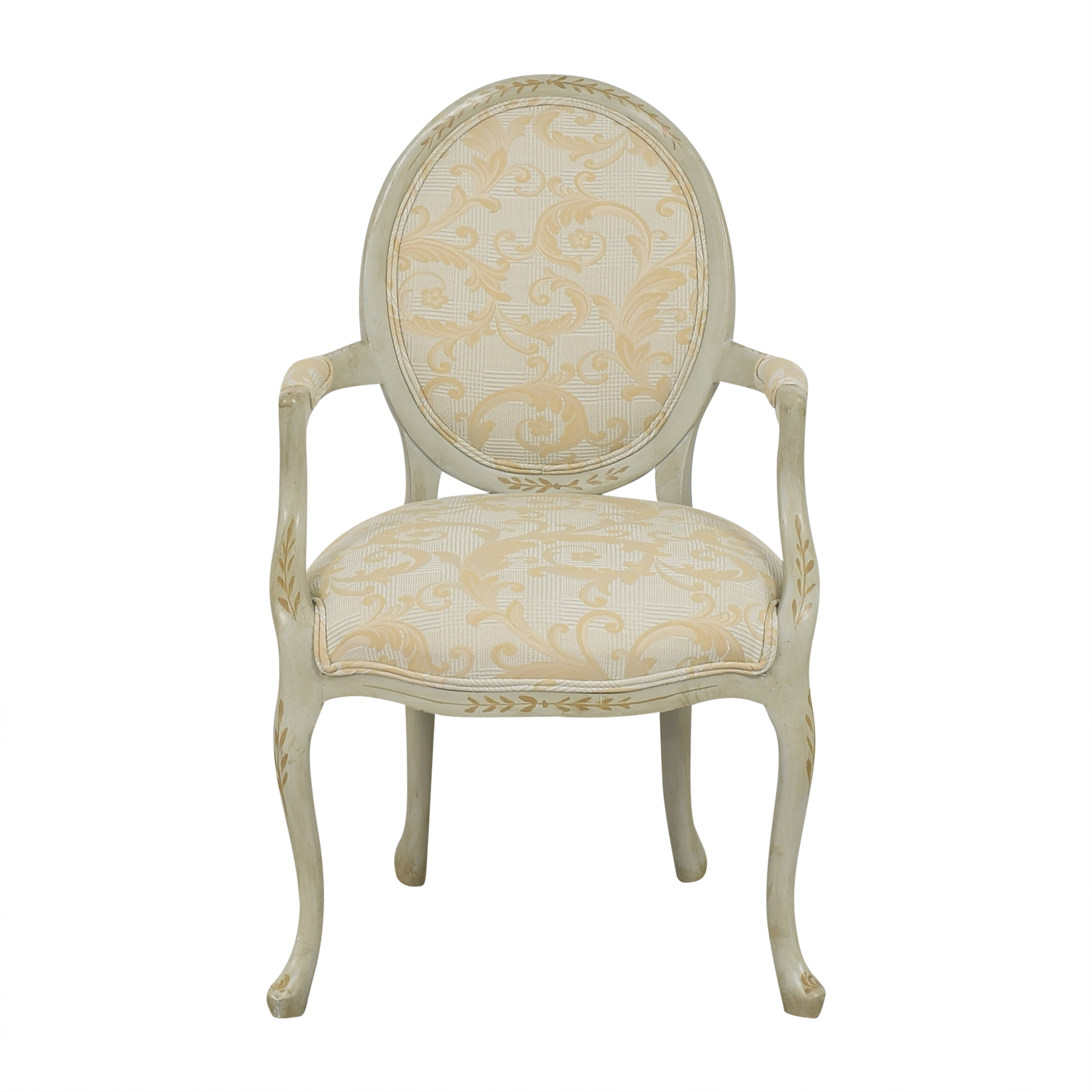 buy French-Style Round Back Arm Chair