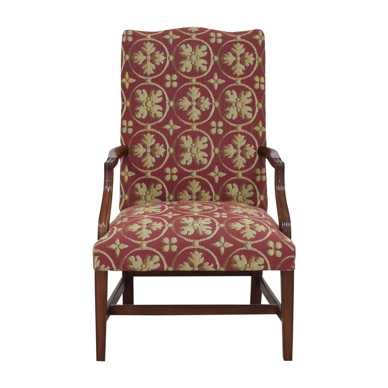 Custom Camelback Armchair
