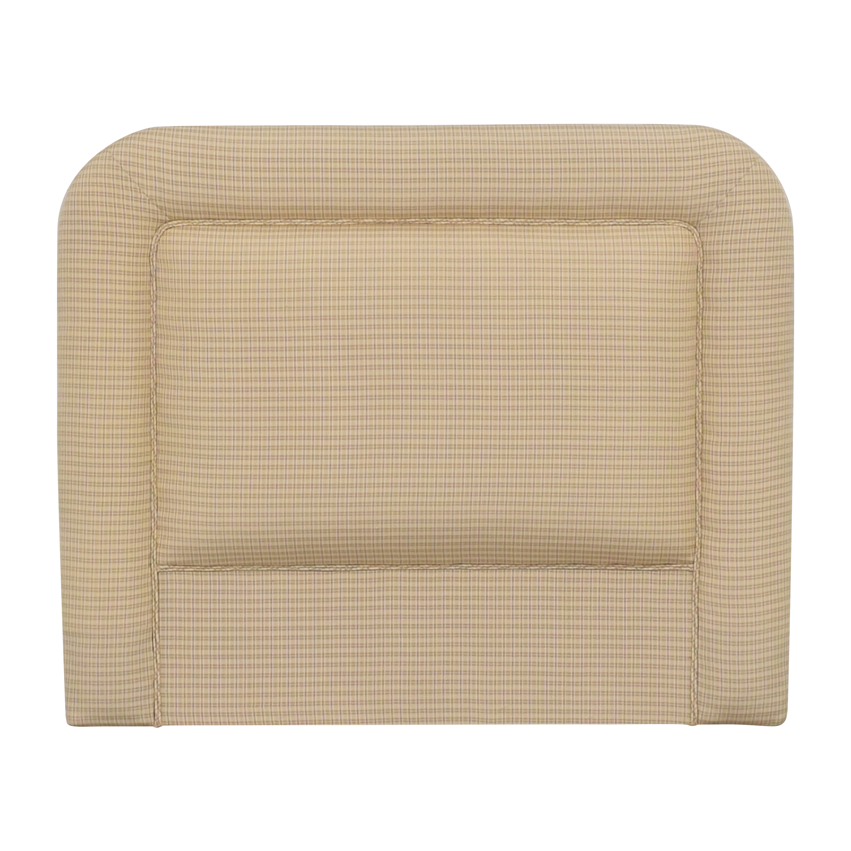 buy Contemporary Upholstered Twin Headboard  Headboards