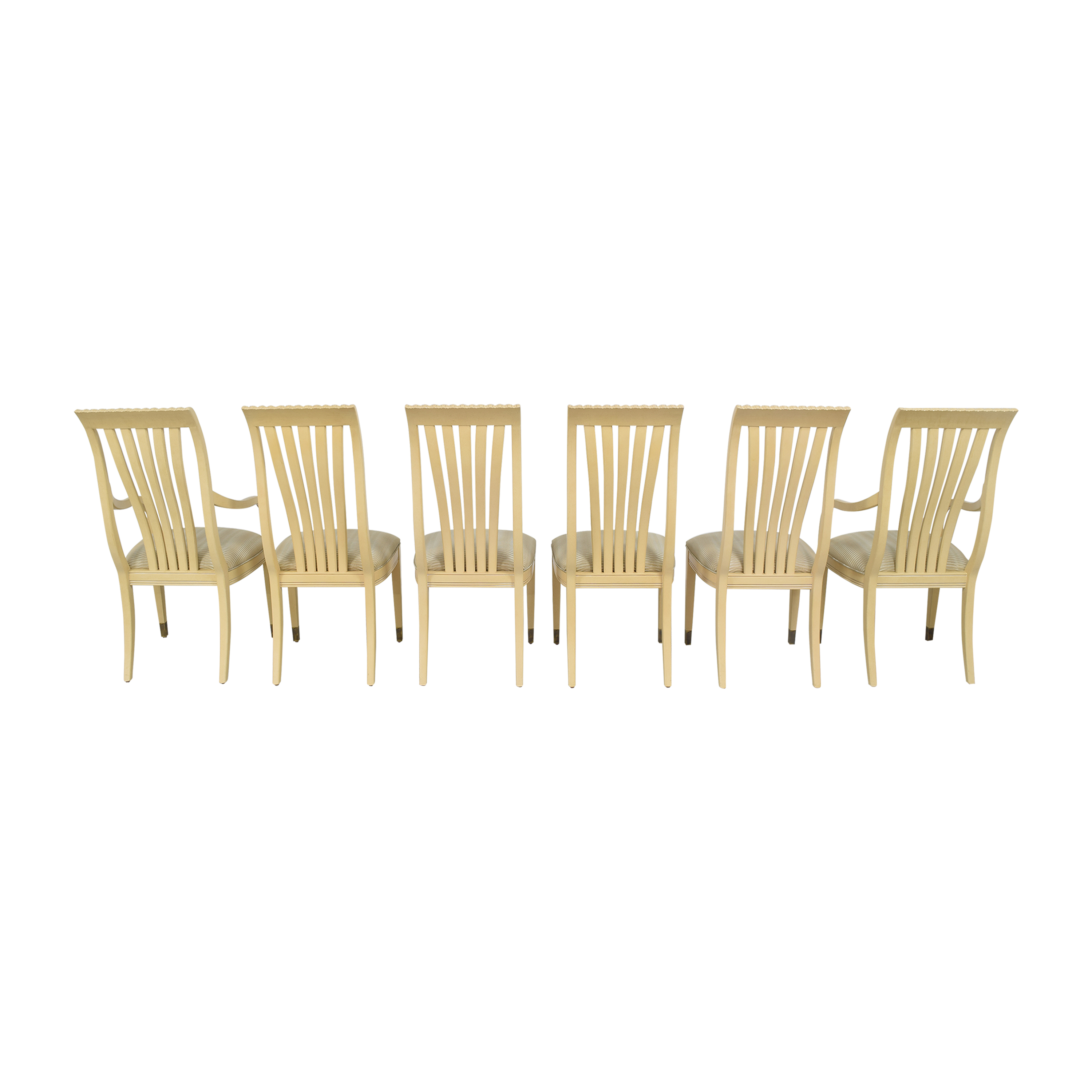 shop Century Furniture Upholstered Dining Chairs Century Furniture