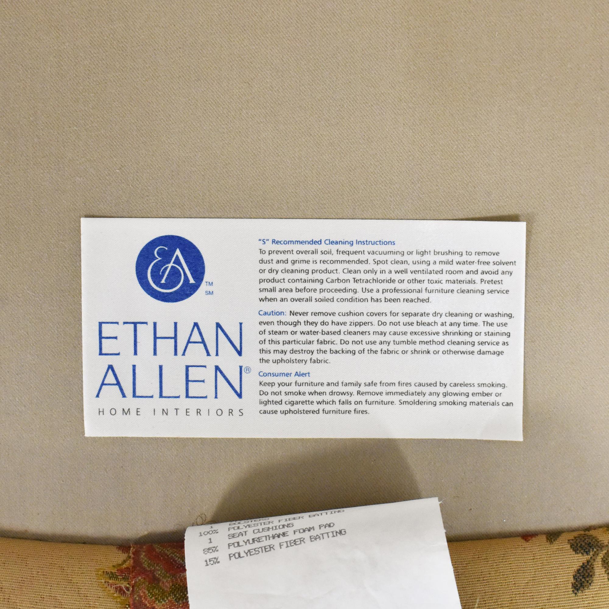 shop Ethan Allen Suzette Accent Chair Ethan Allen
