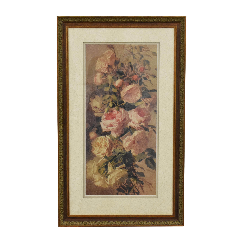 Ethan Allen Roses Wall Art / Wall Art