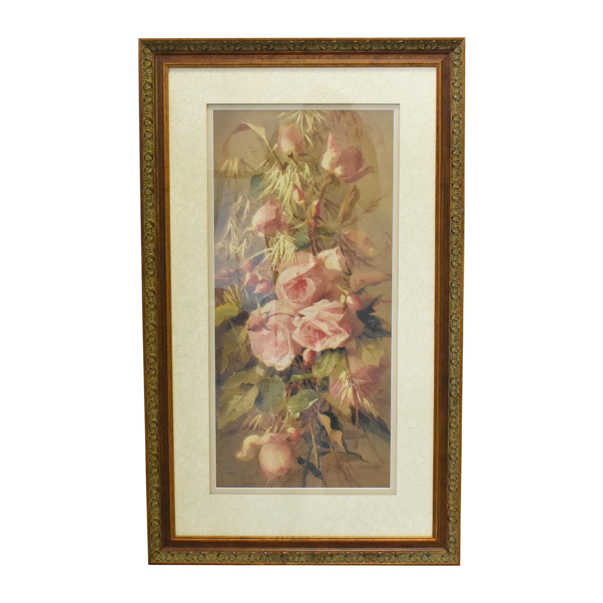 Ethan Allen Ethan Allen Roses Wall Art coupon
