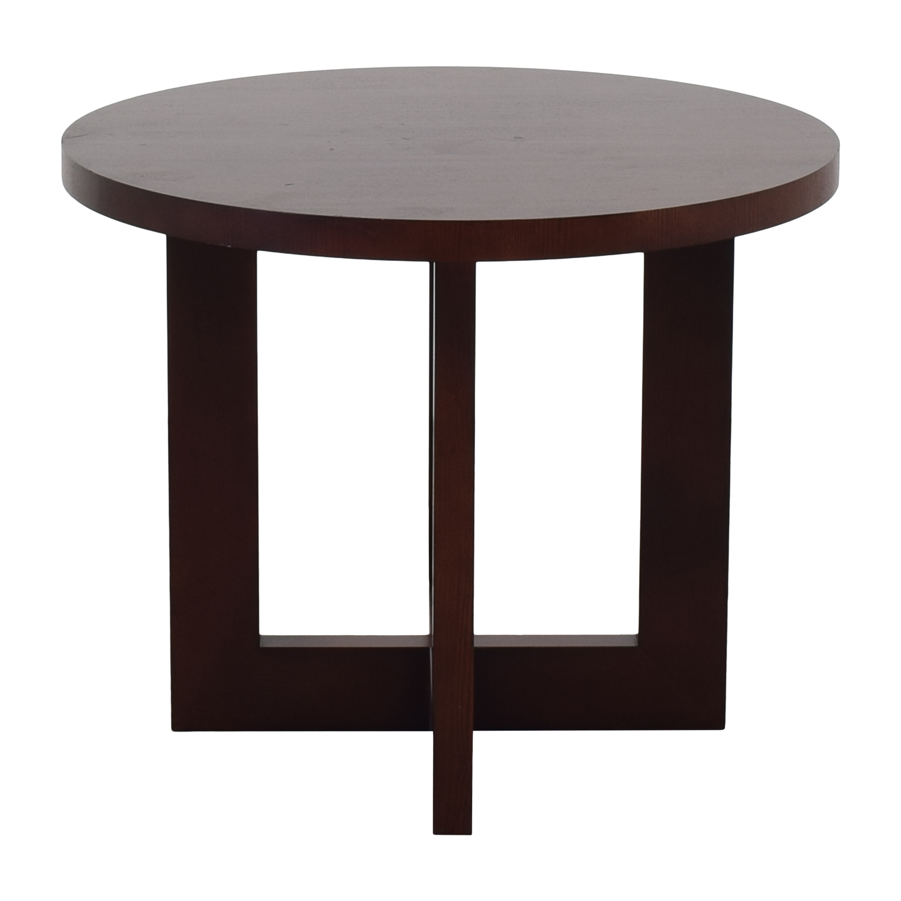 Ethan Allen Round End Table / End Tables