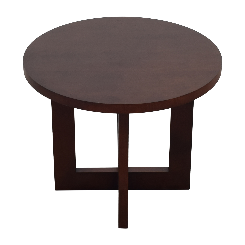 Ethan Allen Ethan Allen Round End Table pa