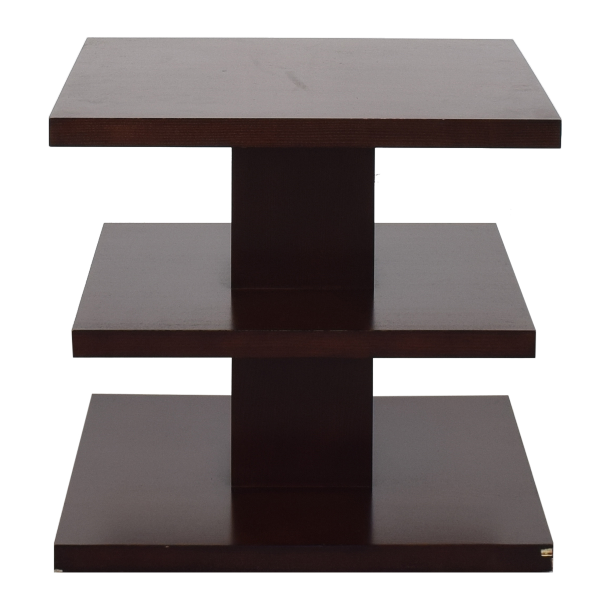 Ethan Allen Ethan Allen Square Tiered End Table ma