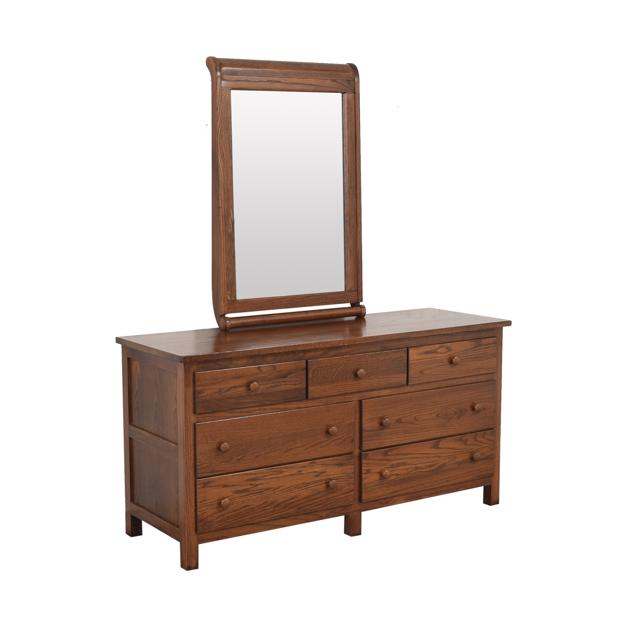 shop Baby's Dream Dresser with Mirror Baby's Dream Dressers