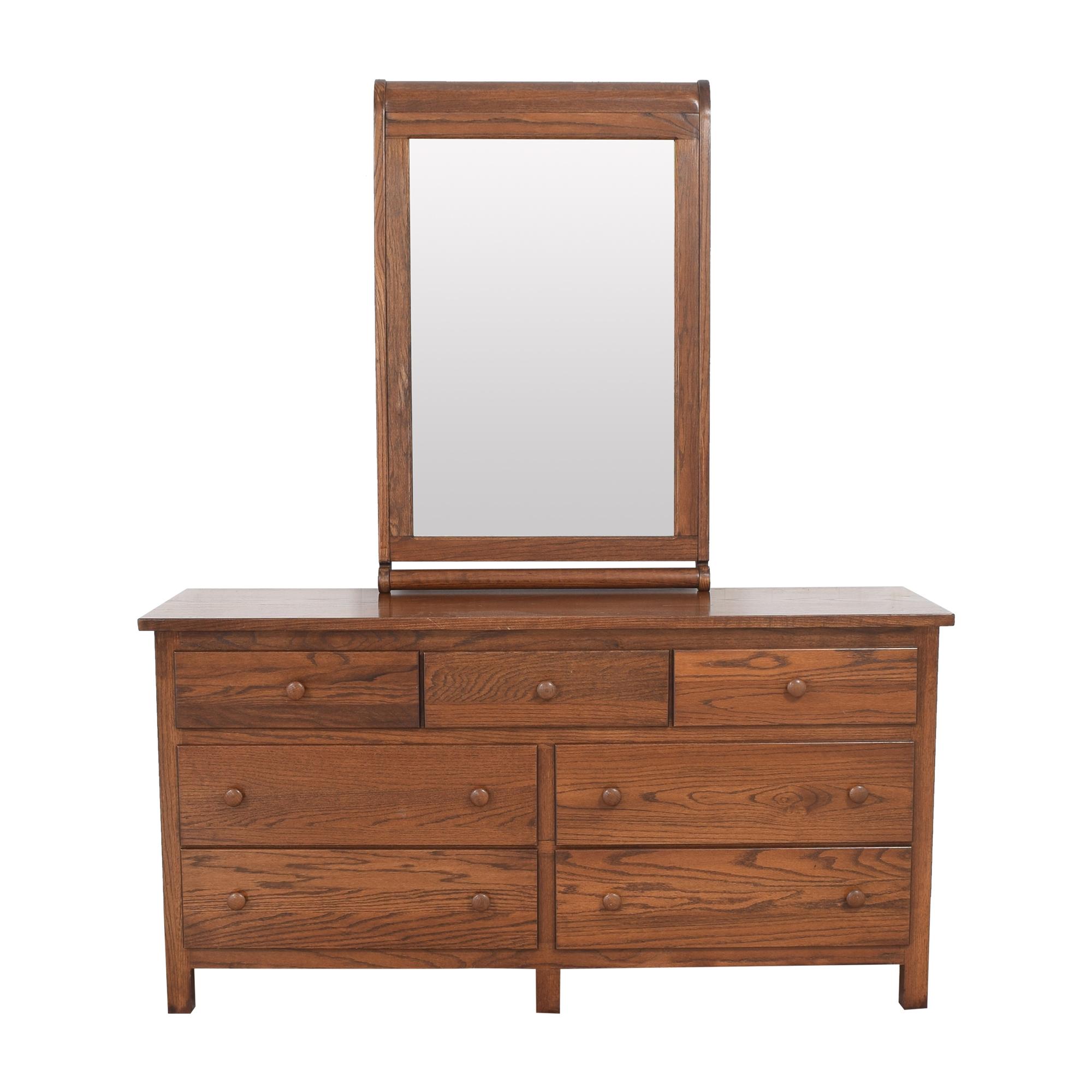 shop Baby's Dream Dresser with Mirror Baby's Dream Storage