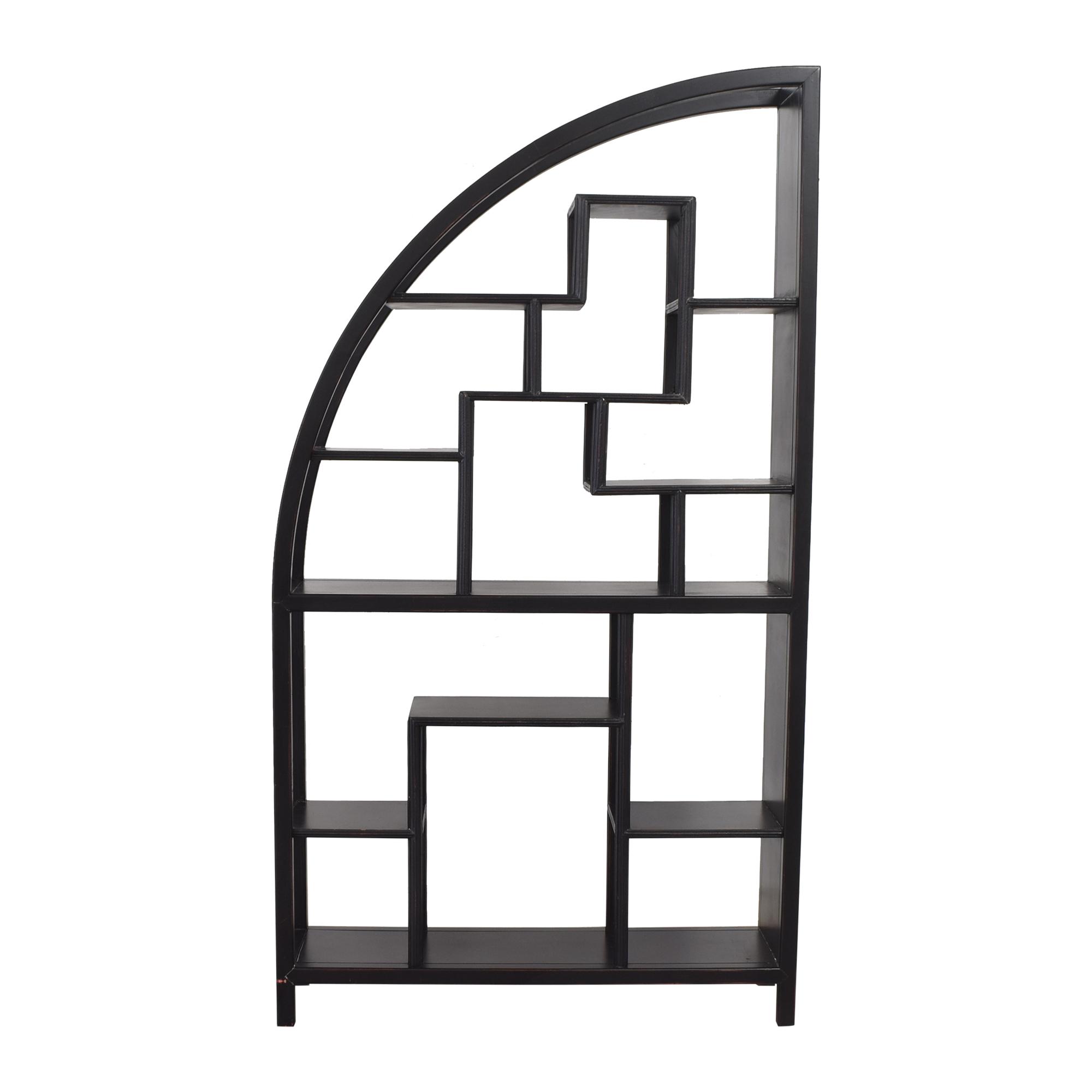 buy Geometric Bookcase  Bookcases & Shelving