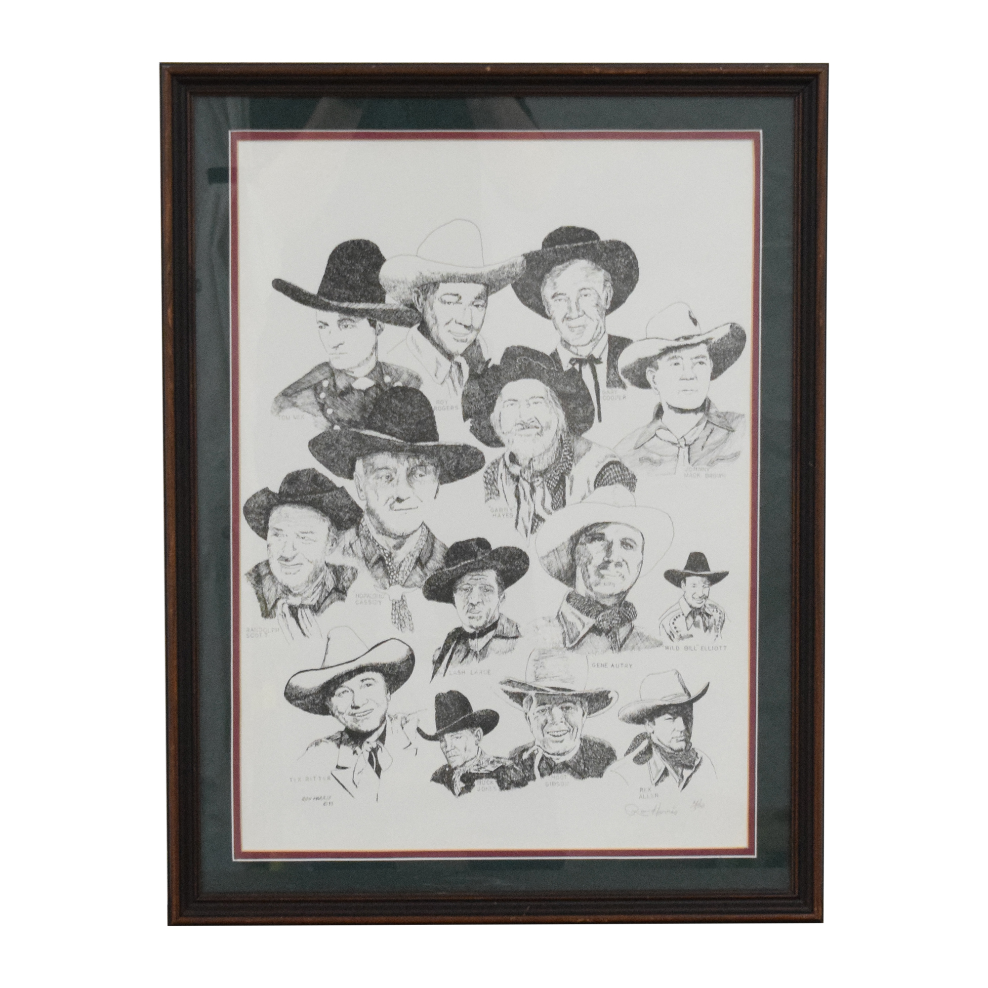 buy  Ron Harris Cowboys Wall Art online