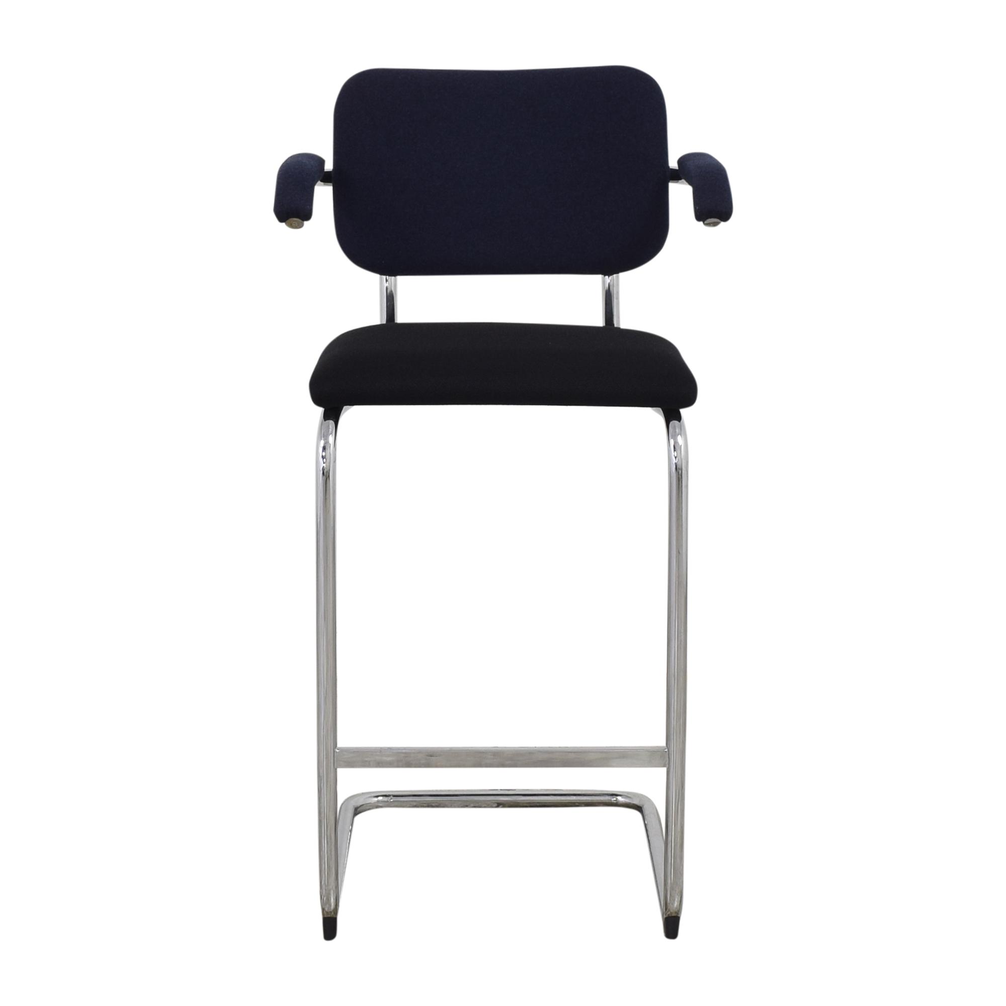 shop Knoll Marcel Breuer Cesca Arm Chair Knoll Stools
