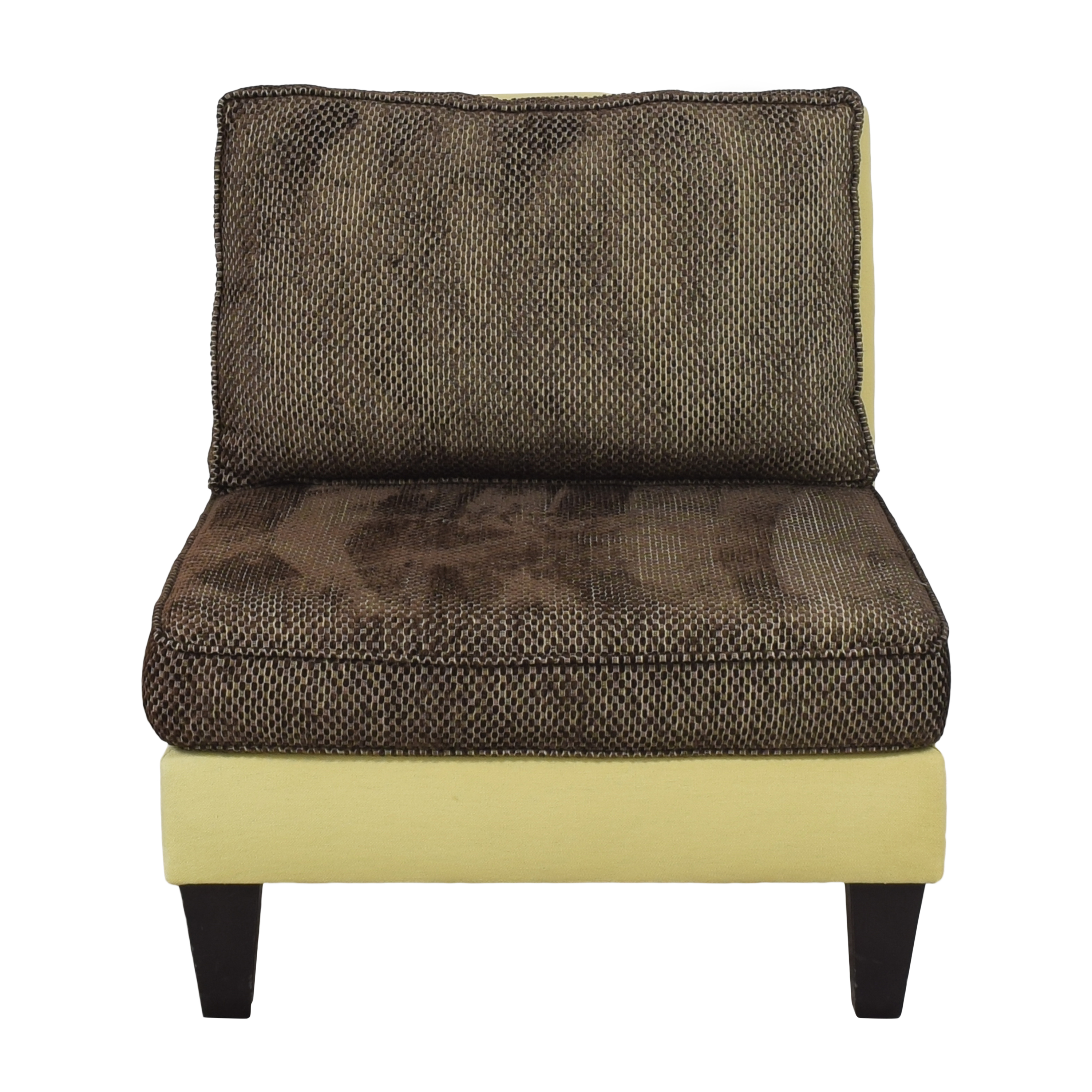 Moss Home Moss Home Cypress Slipper Chair for sale