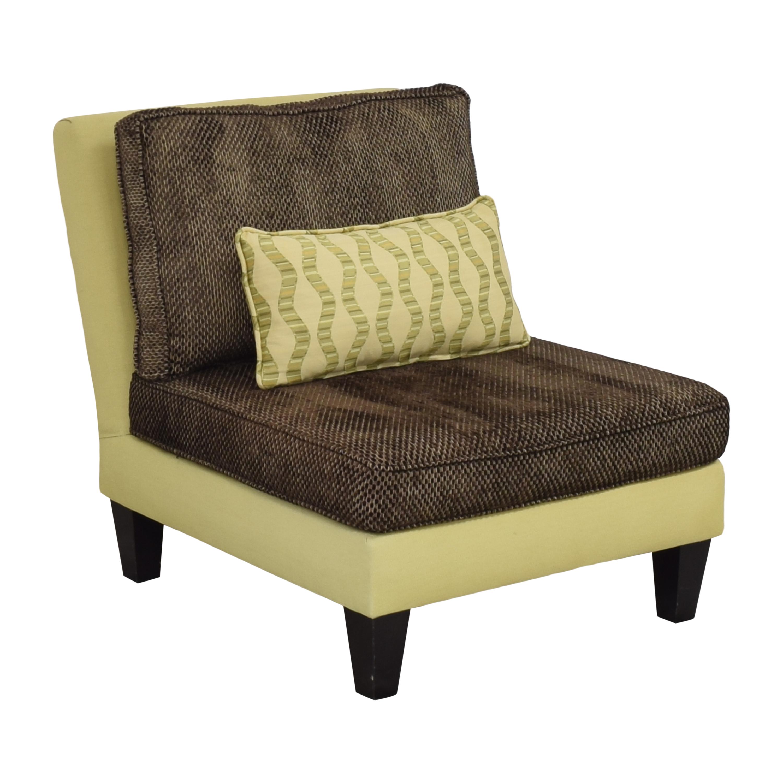 shop Moss Home Cypress Slipper Chair Moss Home Accent Chairs
