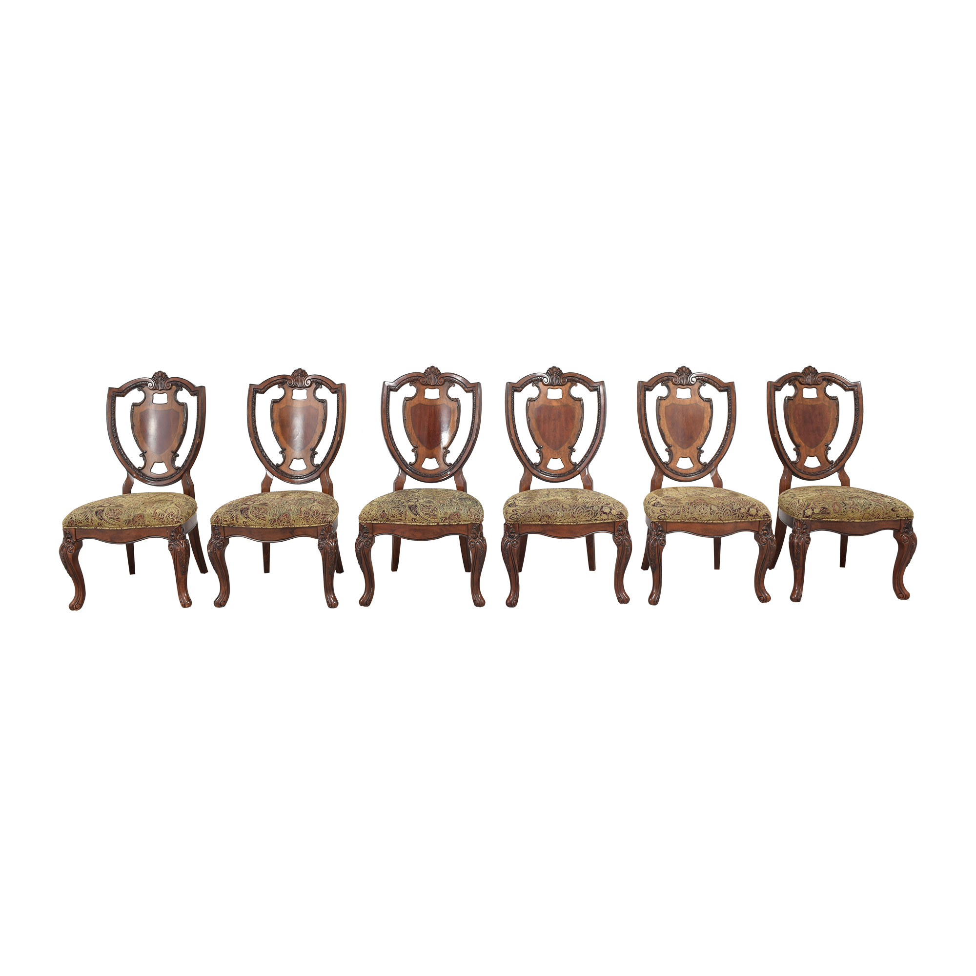A.R.T. Furniture A.R.T. Furniture Shield Back Dining Side Chairs ma