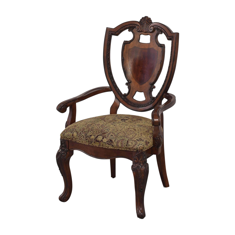 shop A.R.T. Furniture Old World Shield Back Dining Arm Chairs A.R.T. Furniture Dining Chairs