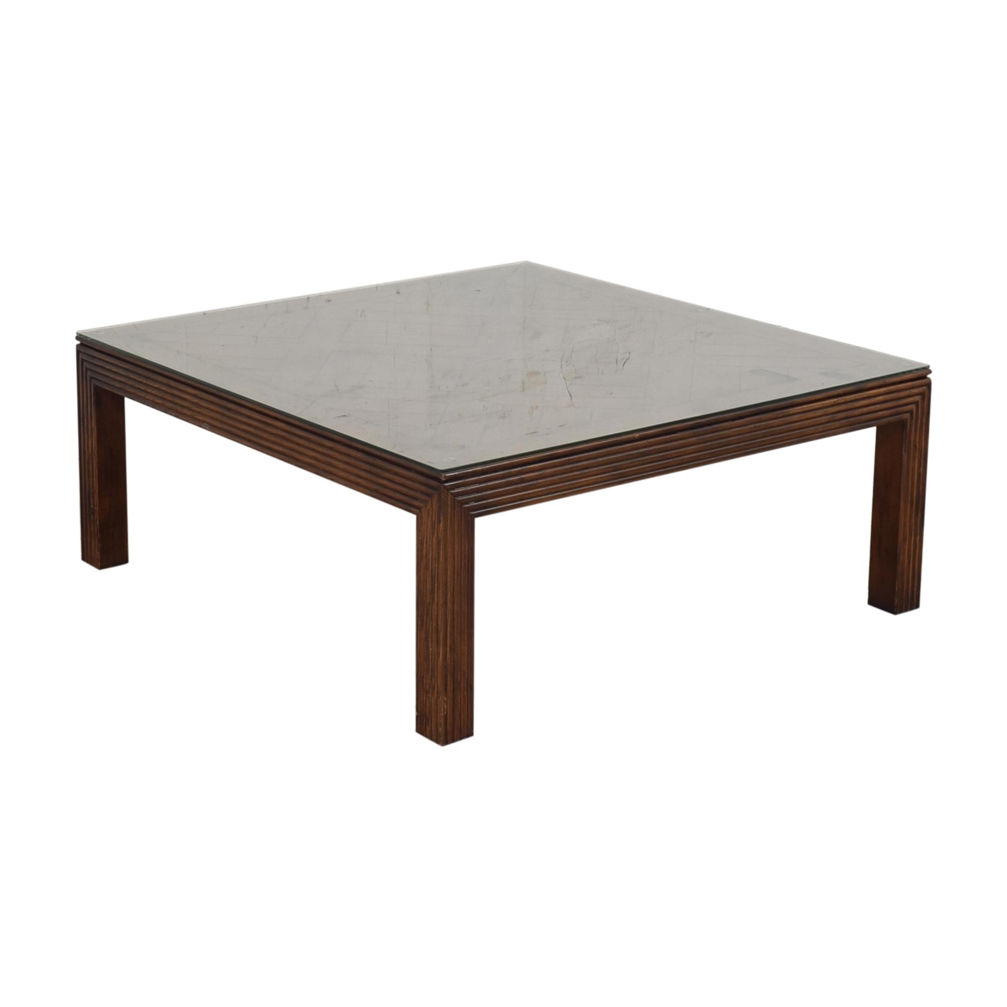 buy Henredon Furniture Square Coffee Table Henredon Furniture Tables
