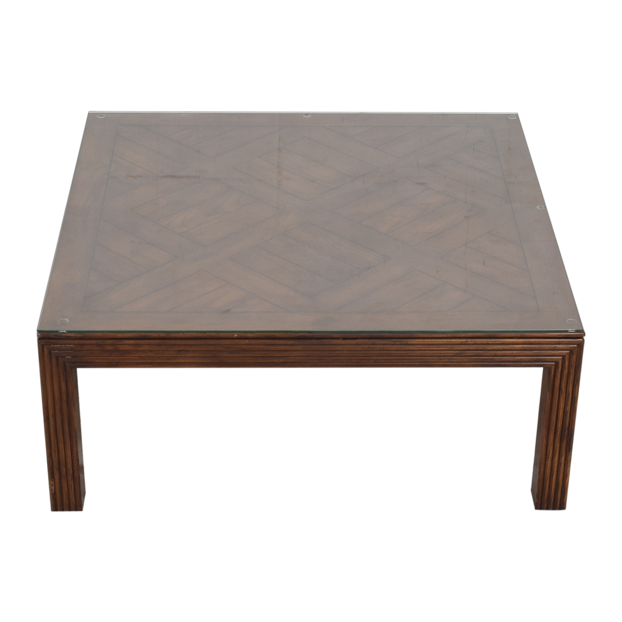 buy Henredon Furniture Square Coffee Table Henredon Furniture Coffee Tables