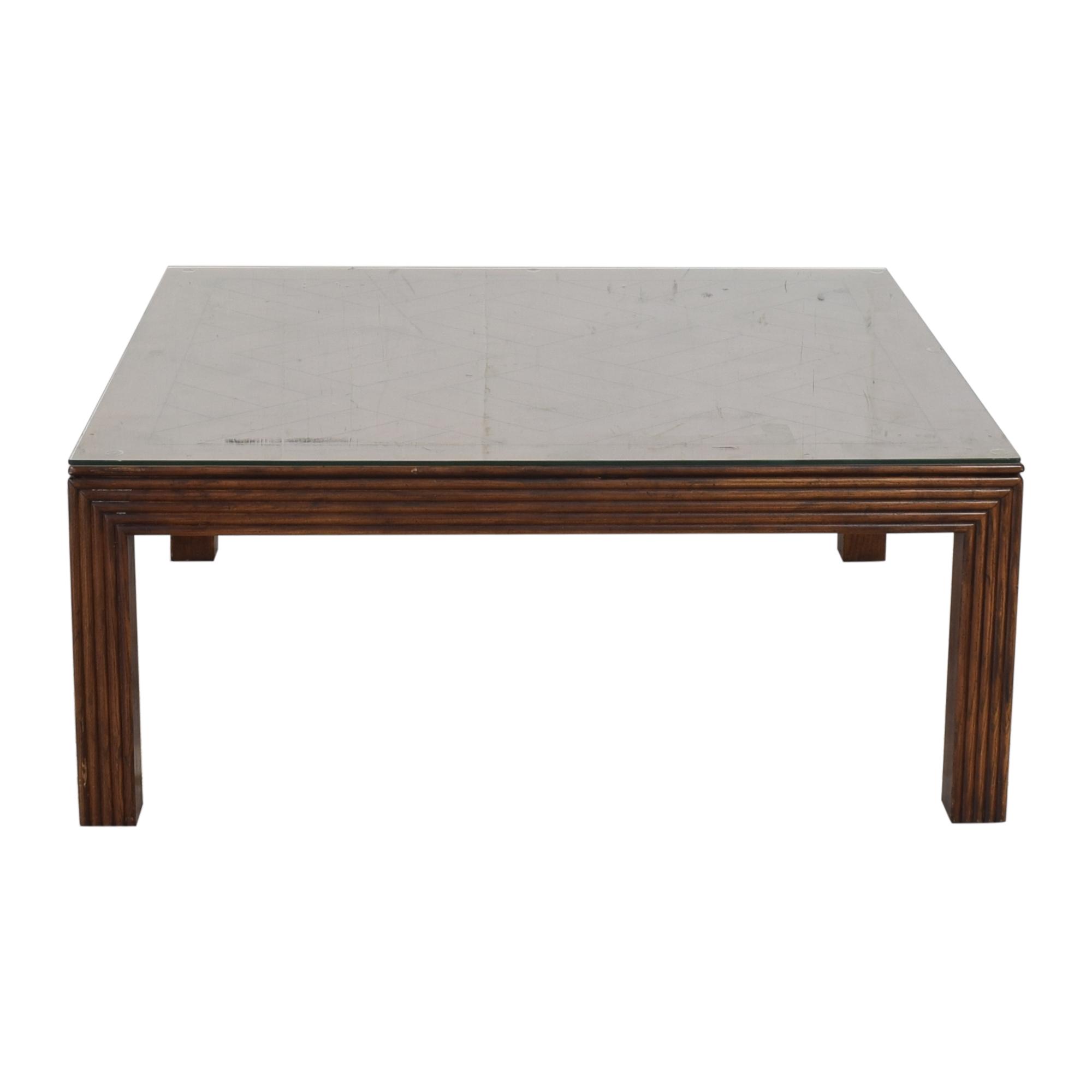 Henredon Furniture Square Coffee Table sale