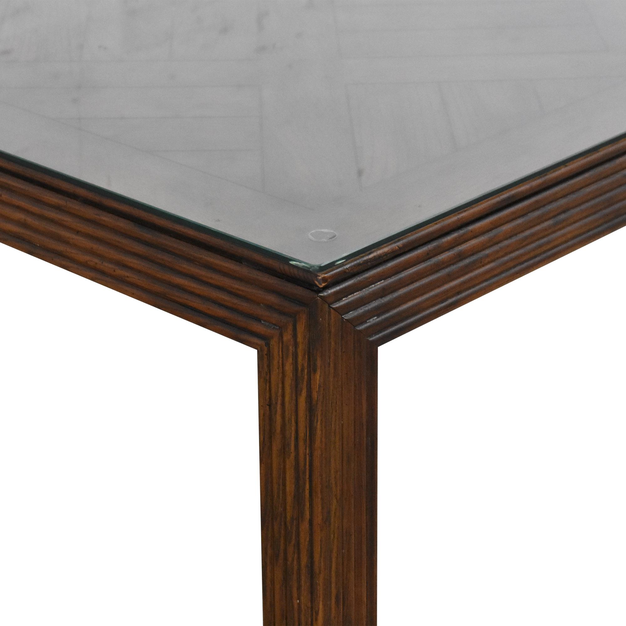 Henredon Furniture Square Coffee Table Henredon Furniture