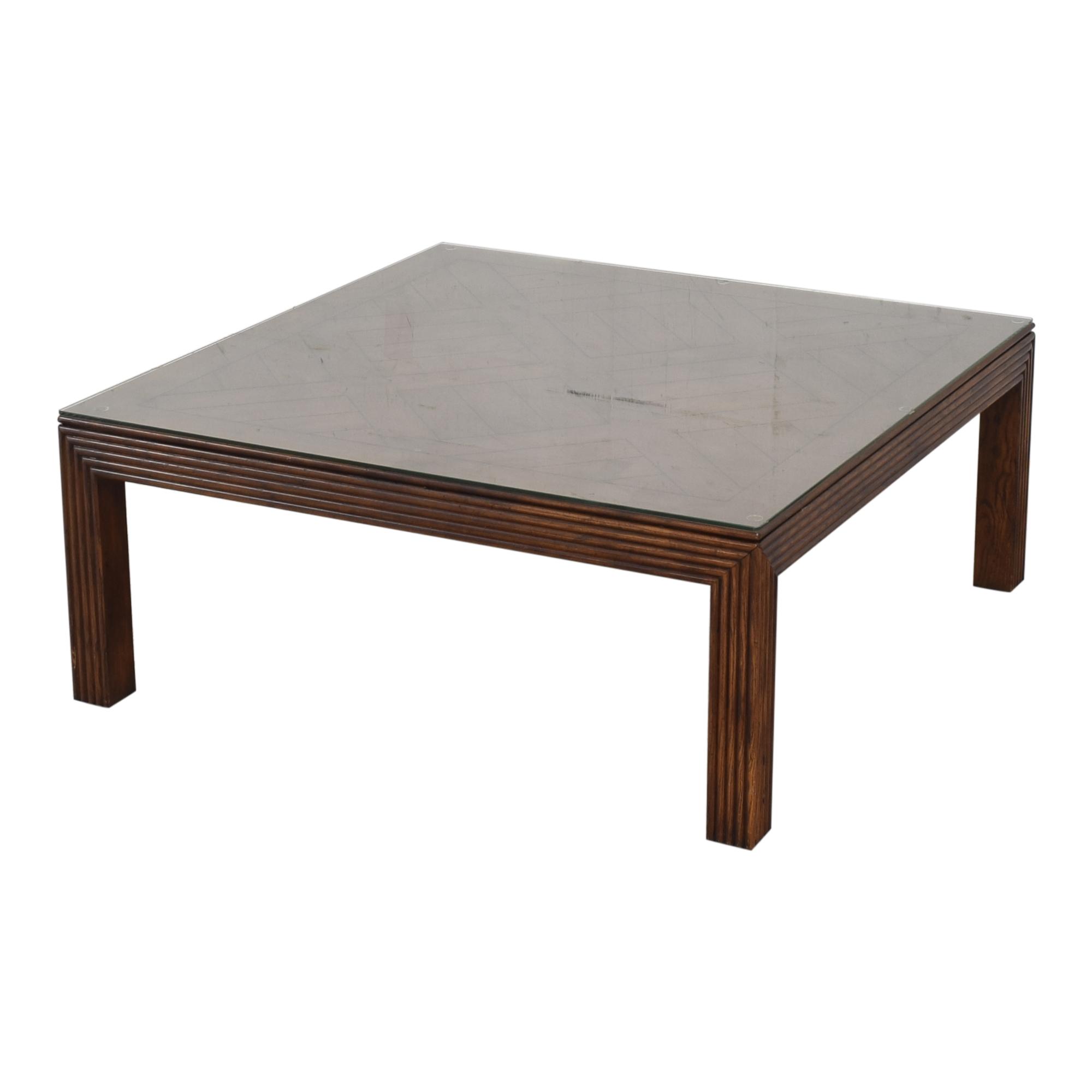 Henredon Furniture Henredon Furniture Square Coffee Table price