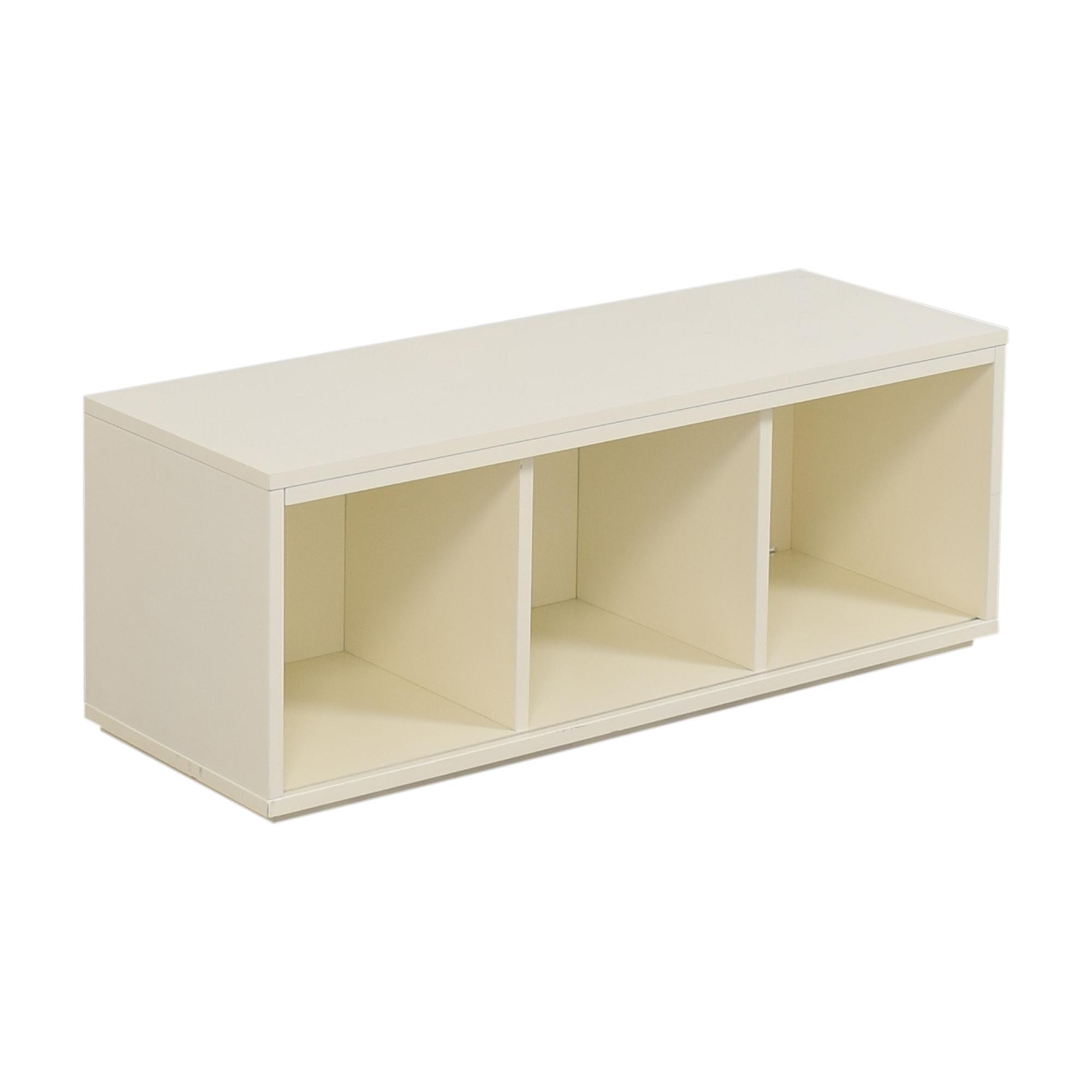 Crate & Barrel Crate & Barrel District Three-Cube Stackable Bookcase