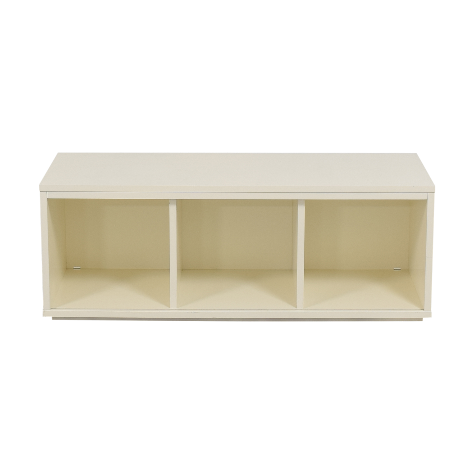 Crate & Barrel District Three-Cube Stackable Bookcase sale