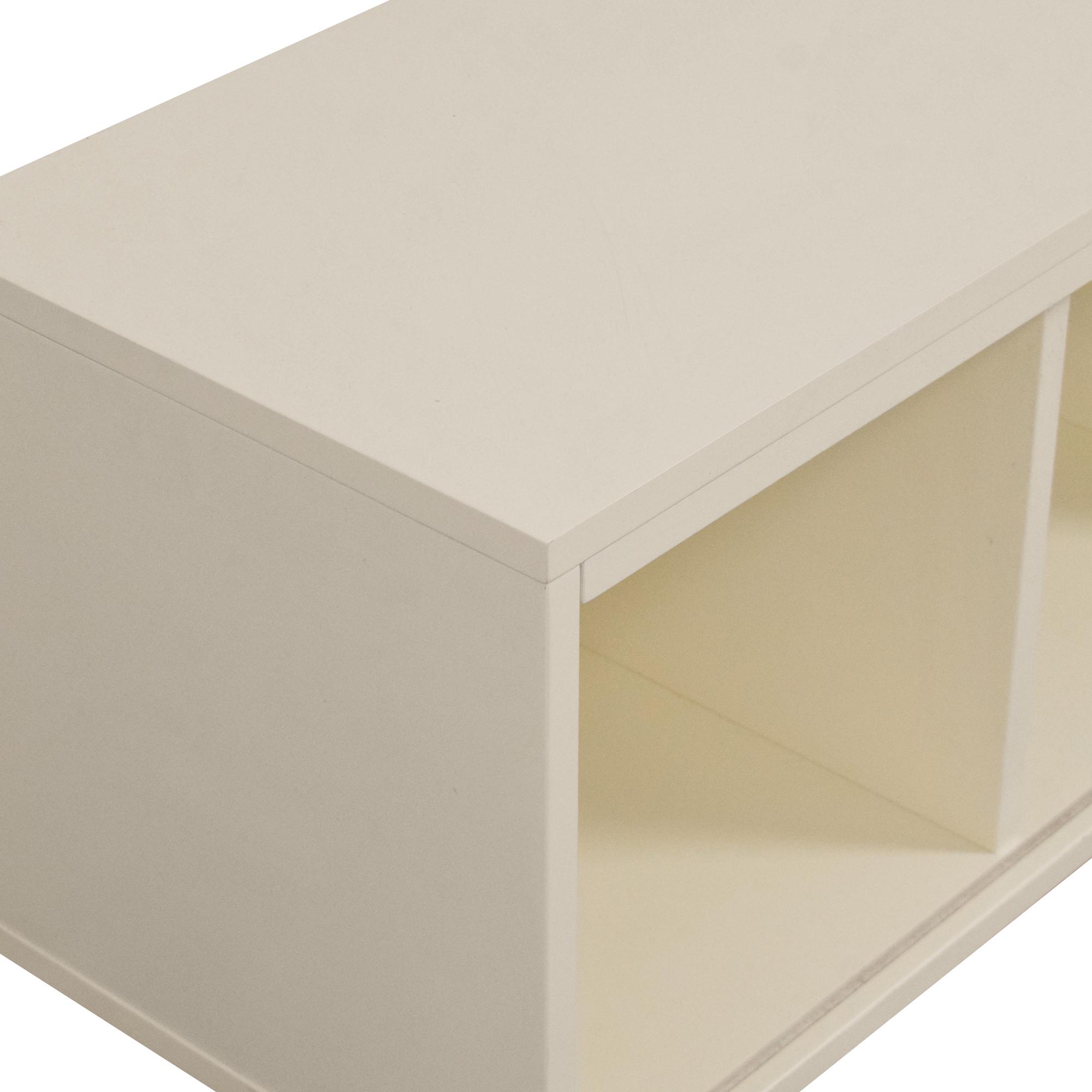 shop Crate & Barrel Crate & Barrel District Three-Cube Stackable Bookcase online
