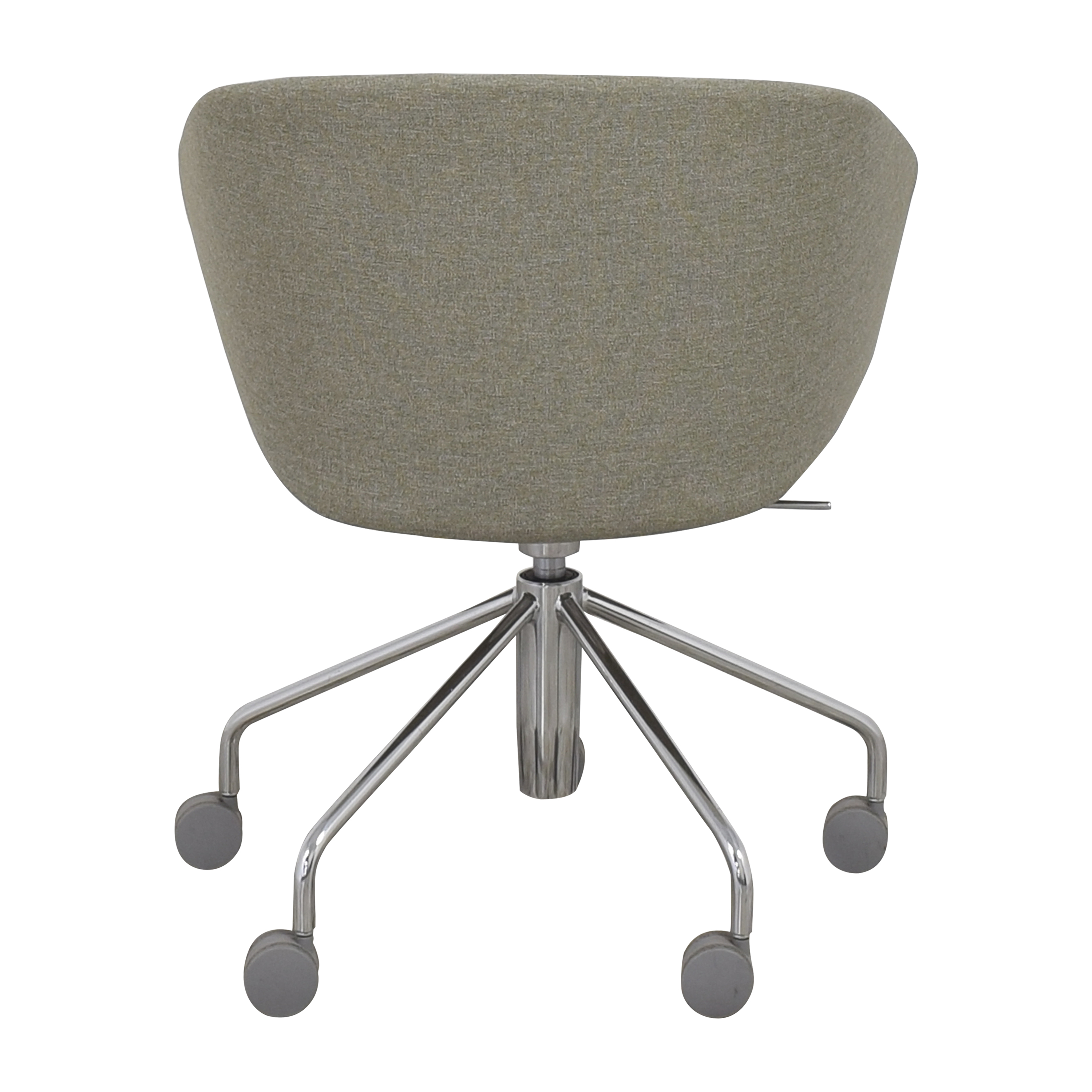 Poppin Poppin Pitch Meeting Chair gray and silver