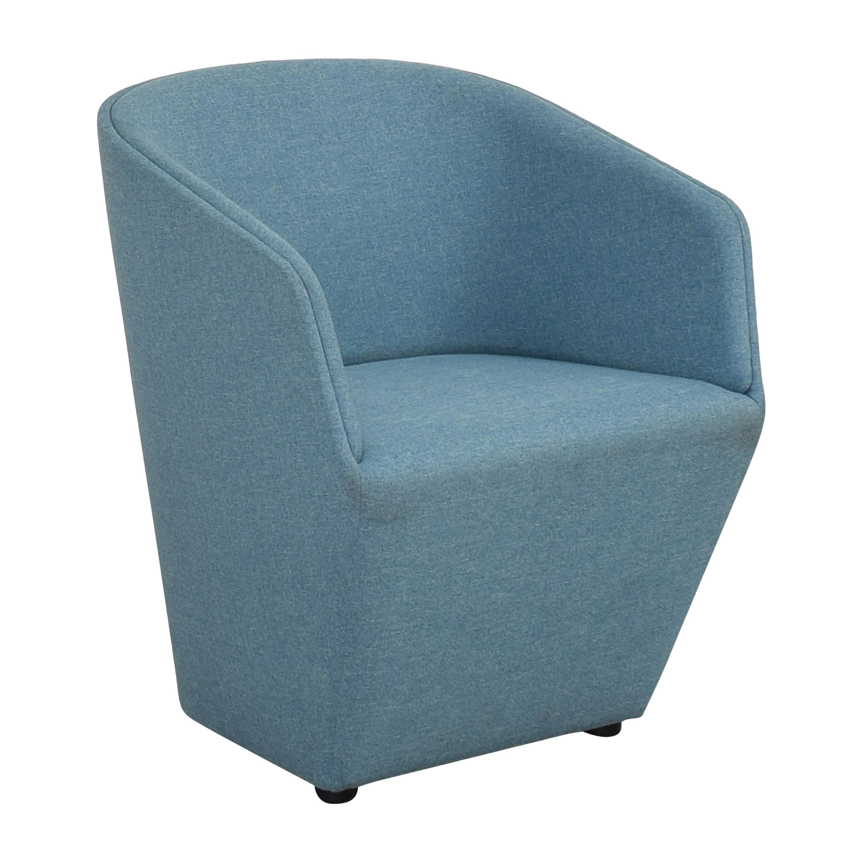 buy Poppin Pitch Club Chair Poppin