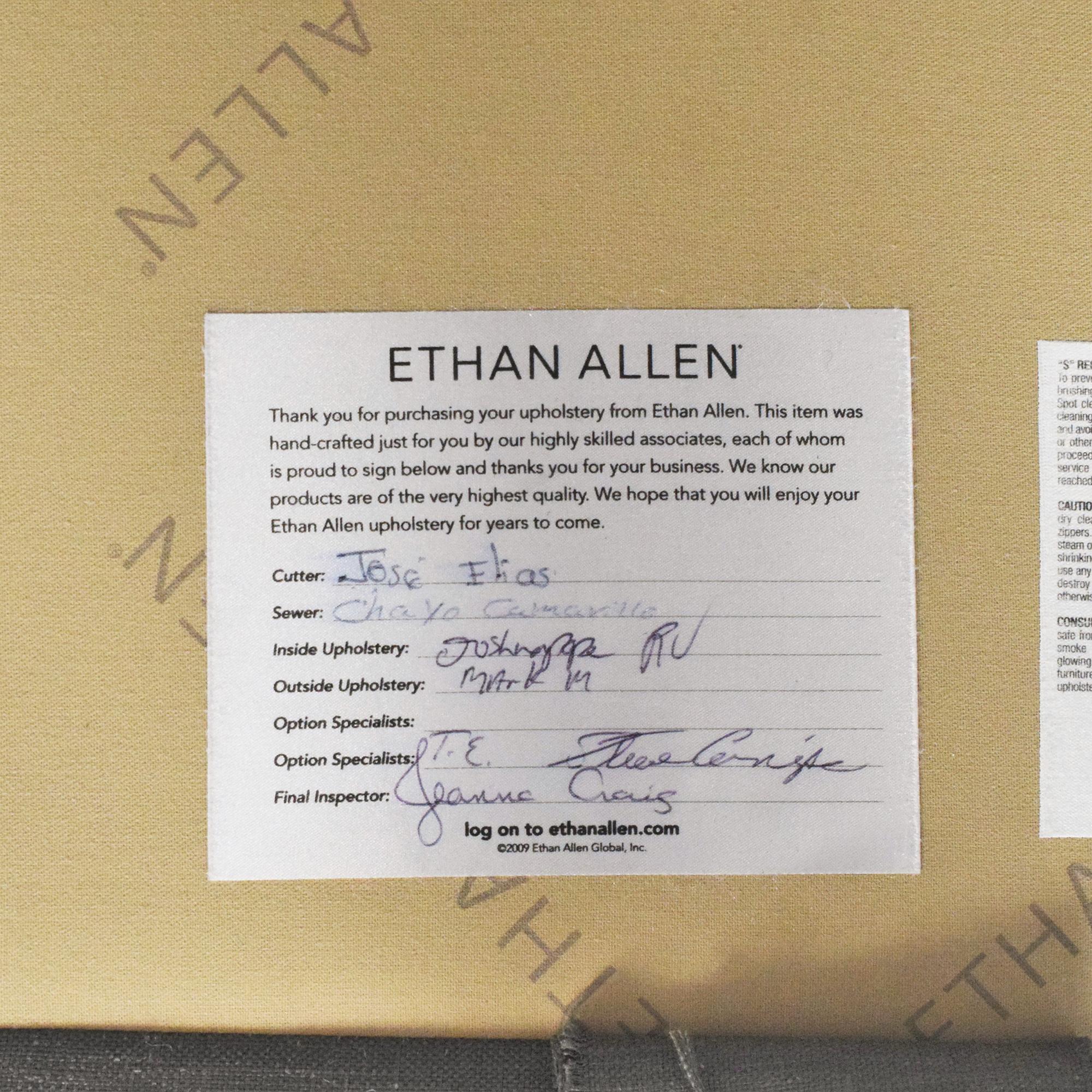 Ethan Allen Tufted Sofa / Sofas