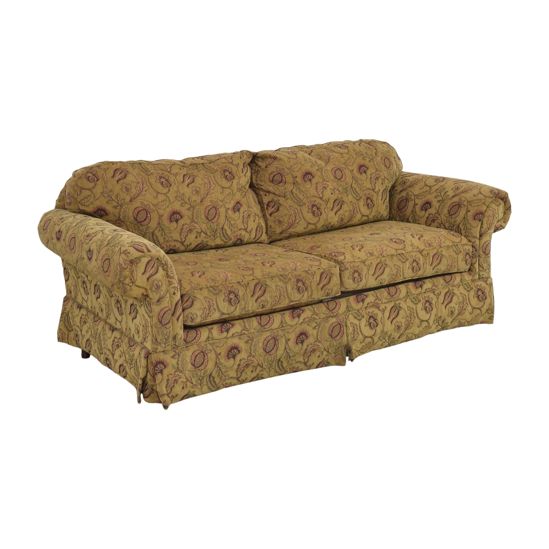 Broyhill Furniture Broyhill Furniture Two Cushion Skirted Sofa