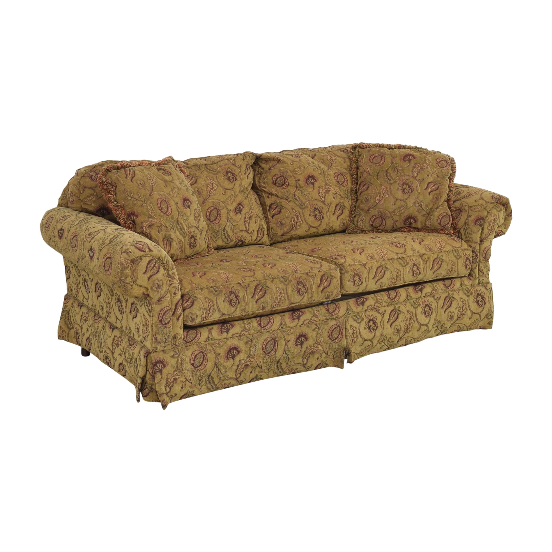 Broyhill Furniture Broyhill Furniture Two Cushion Skirted Sofa pa