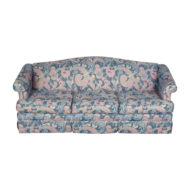 Choice Seating Gallery Skirted Three Cushion Sofa / Sofas