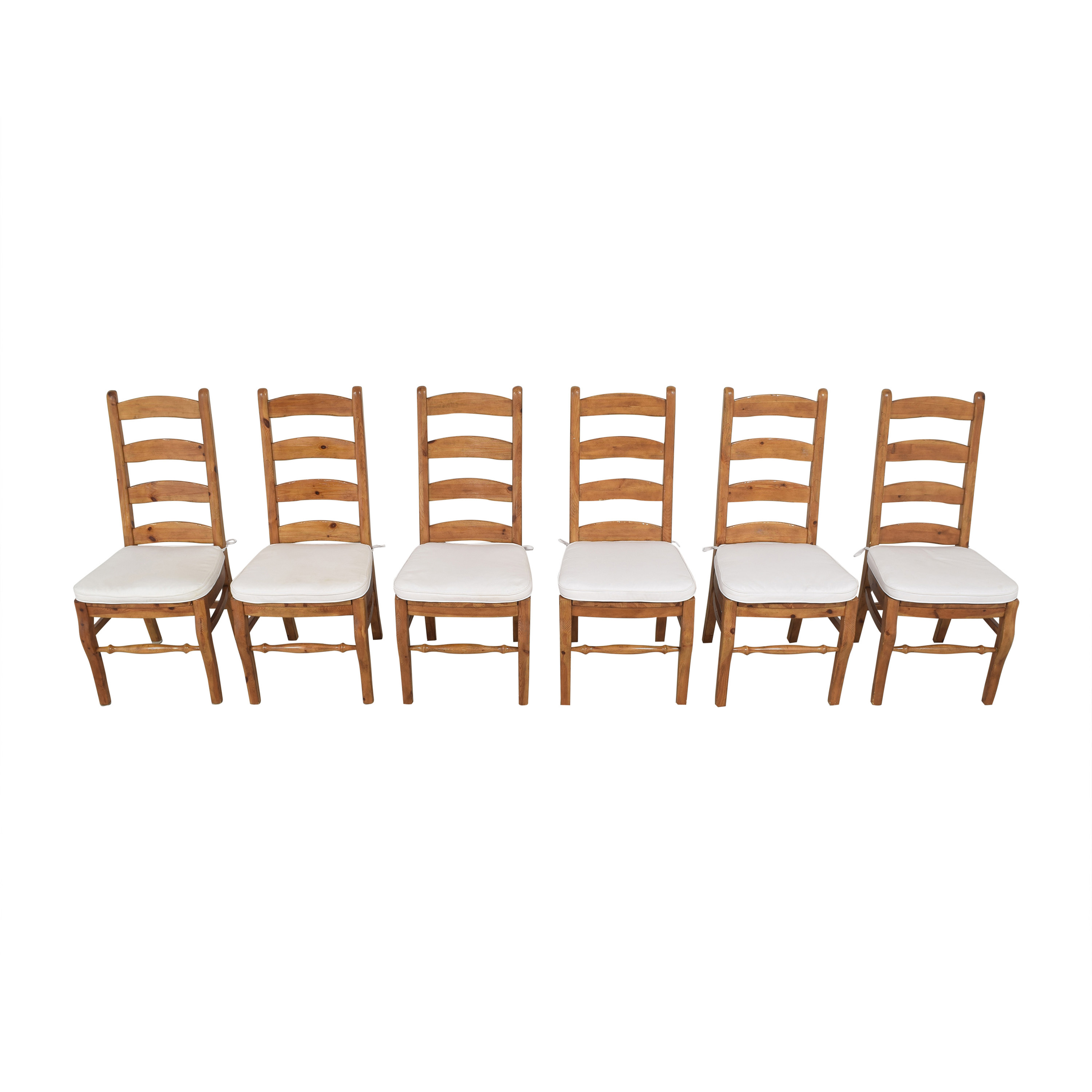 Pottery Barn Pottery Barn Wynn Ladder Back Dining Chairs coupon