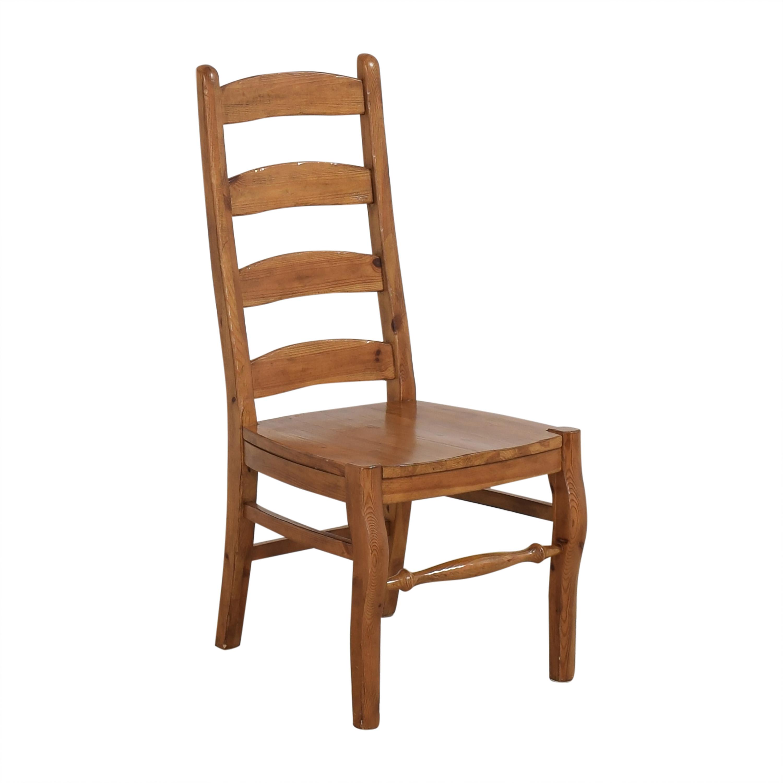 Pottery Barn Pottery Barn Wynn Ladder Back Dining Chairs ma