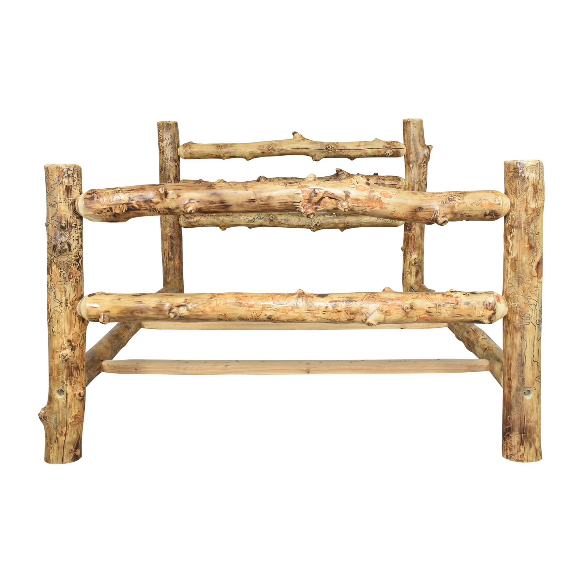The Good Timber The Good Timber Corral Queen Bed second hand