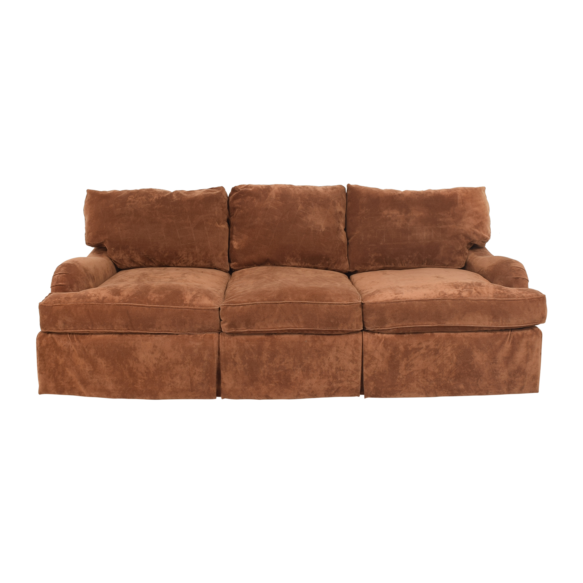 Bernhardt Bernhardt Skirted Three Cushion Sofa Classic Sofas
