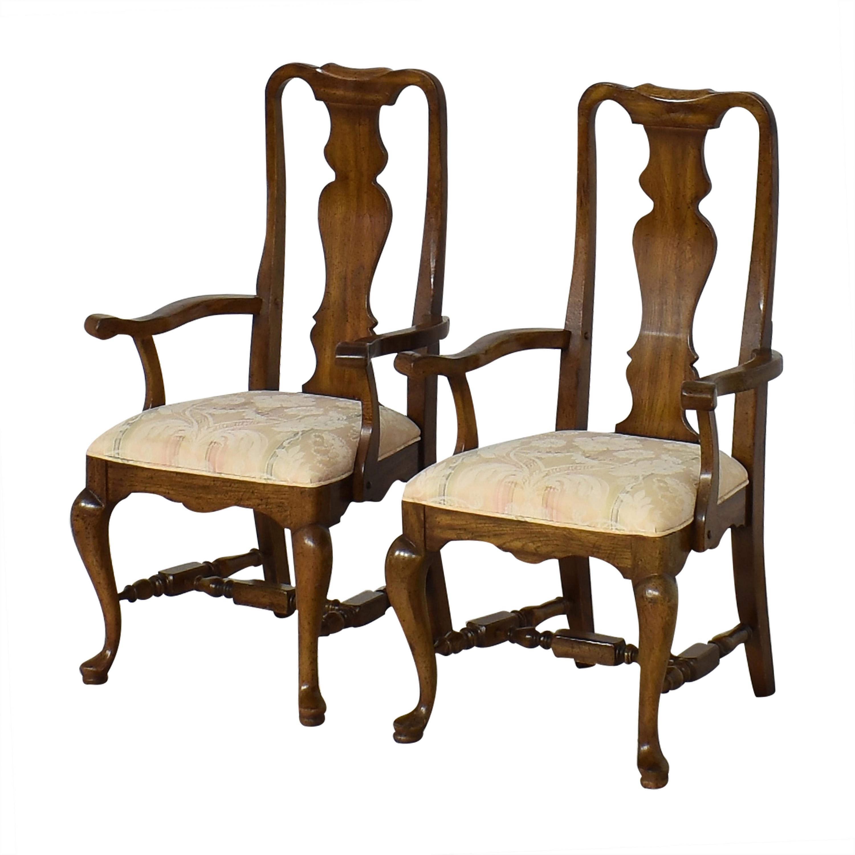 Thomasville Thomasville Dining Arm Chairs ma