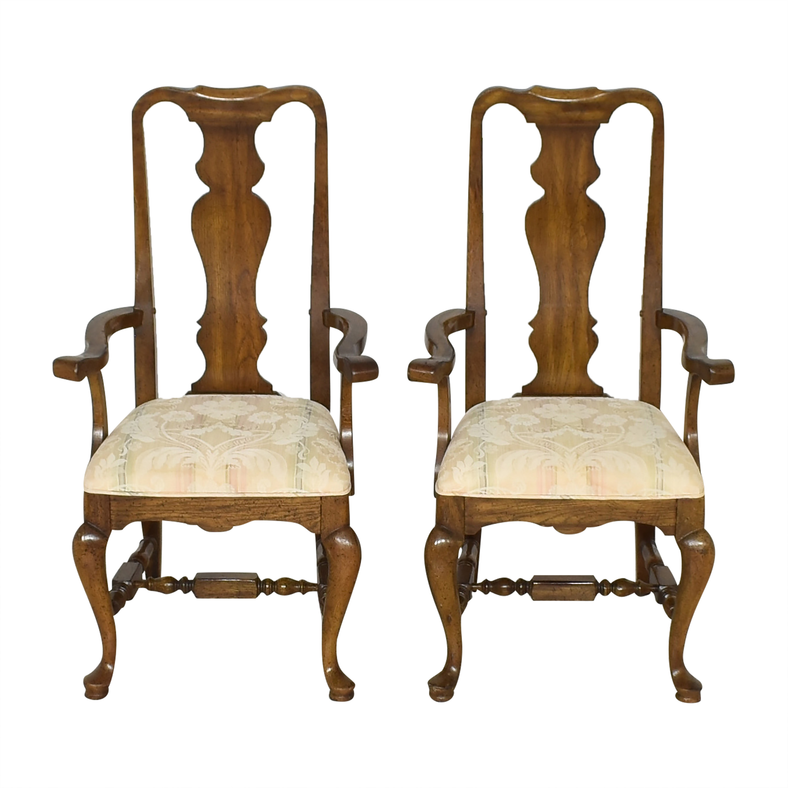 Thomasville Thomasville Dining Arm Chairs dimensions